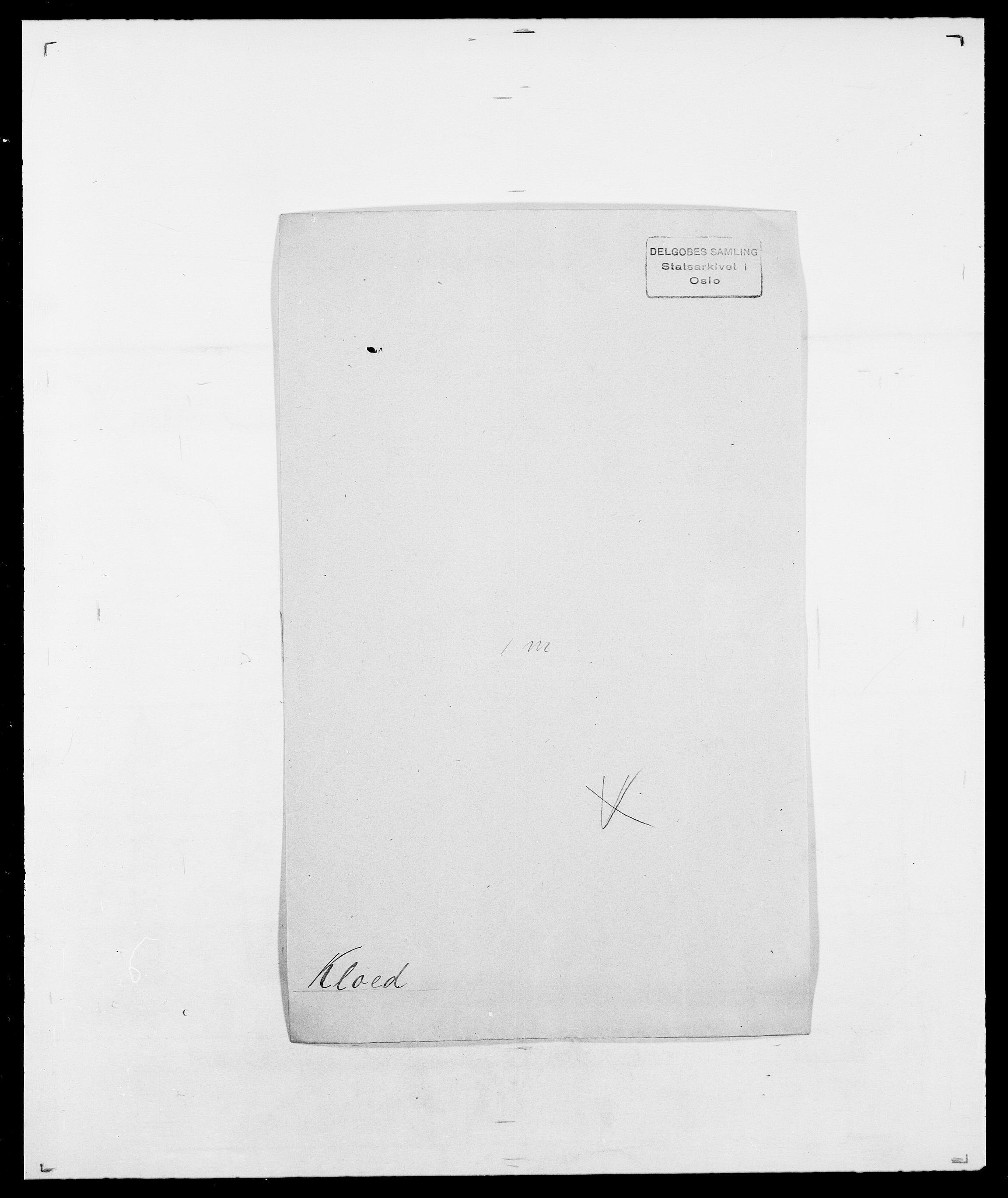 SAO, Delgobe, Charles Antoine - samling, D/Da/L0021: Klagenberg - Kristoft, s. 141