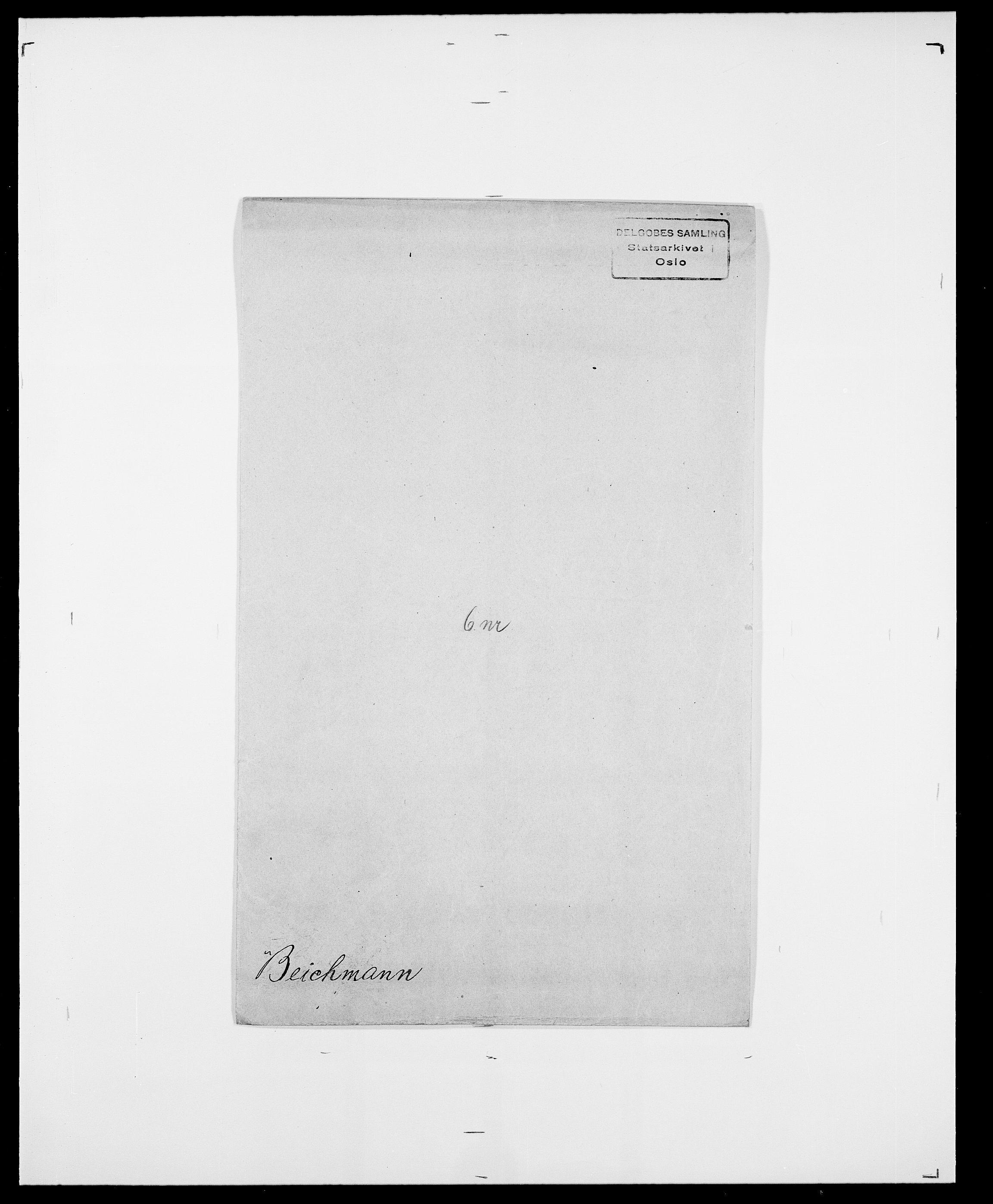 SAO, Delgobe, Charles Antoine - samling, D/Da/L0003: Barca - Bergen, s. 693