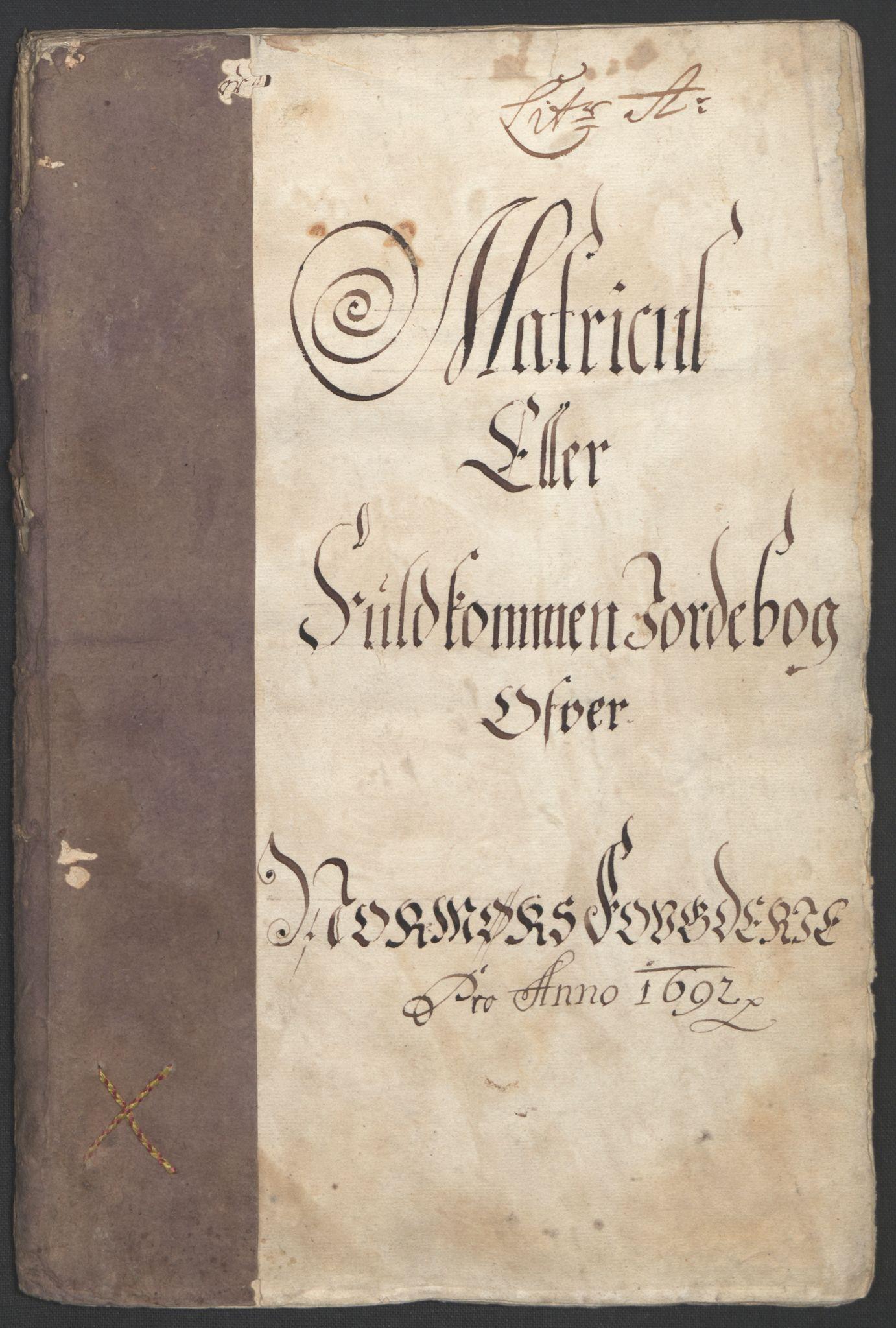 RA, Rentekammeret inntil 1814, Reviderte regnskaper, Fogderegnskap, R56/L3735: Fogderegnskap Nordmøre, 1692-1693, s. 14