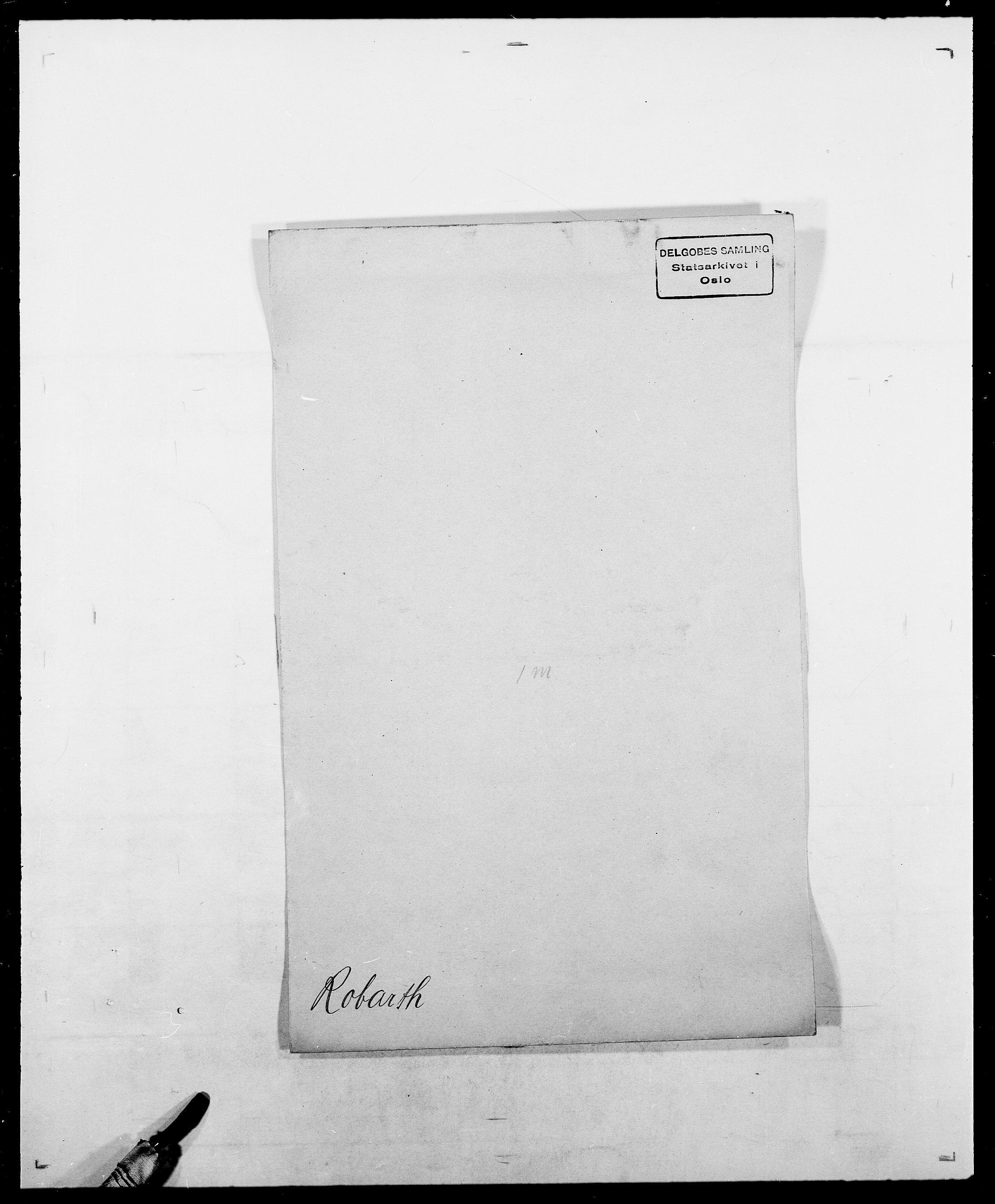 SAO, Delgobe, Charles Antoine - samling, D/Da/L0033: Roald - Røyem, s. 3