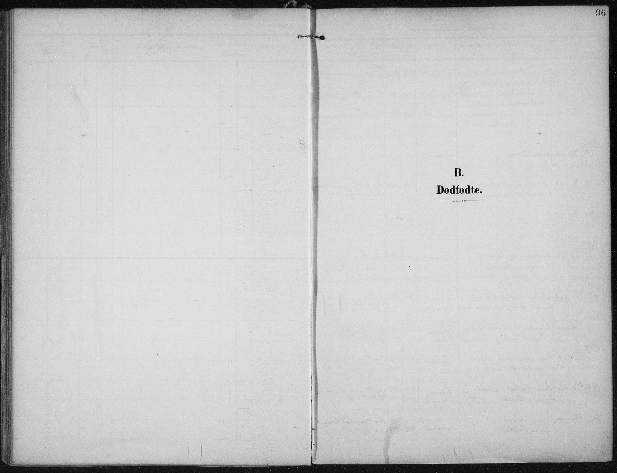 SAST, Egersund sokneprestkontor, Ministerialbok nr. A 21, 1905-1928, s. 96