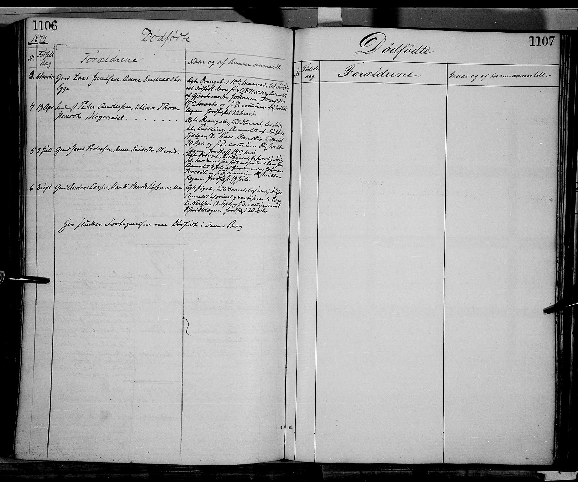 SAH, Gran prestekontor, Ministerialbok nr. 12, 1856-1874, s. 1106-1107