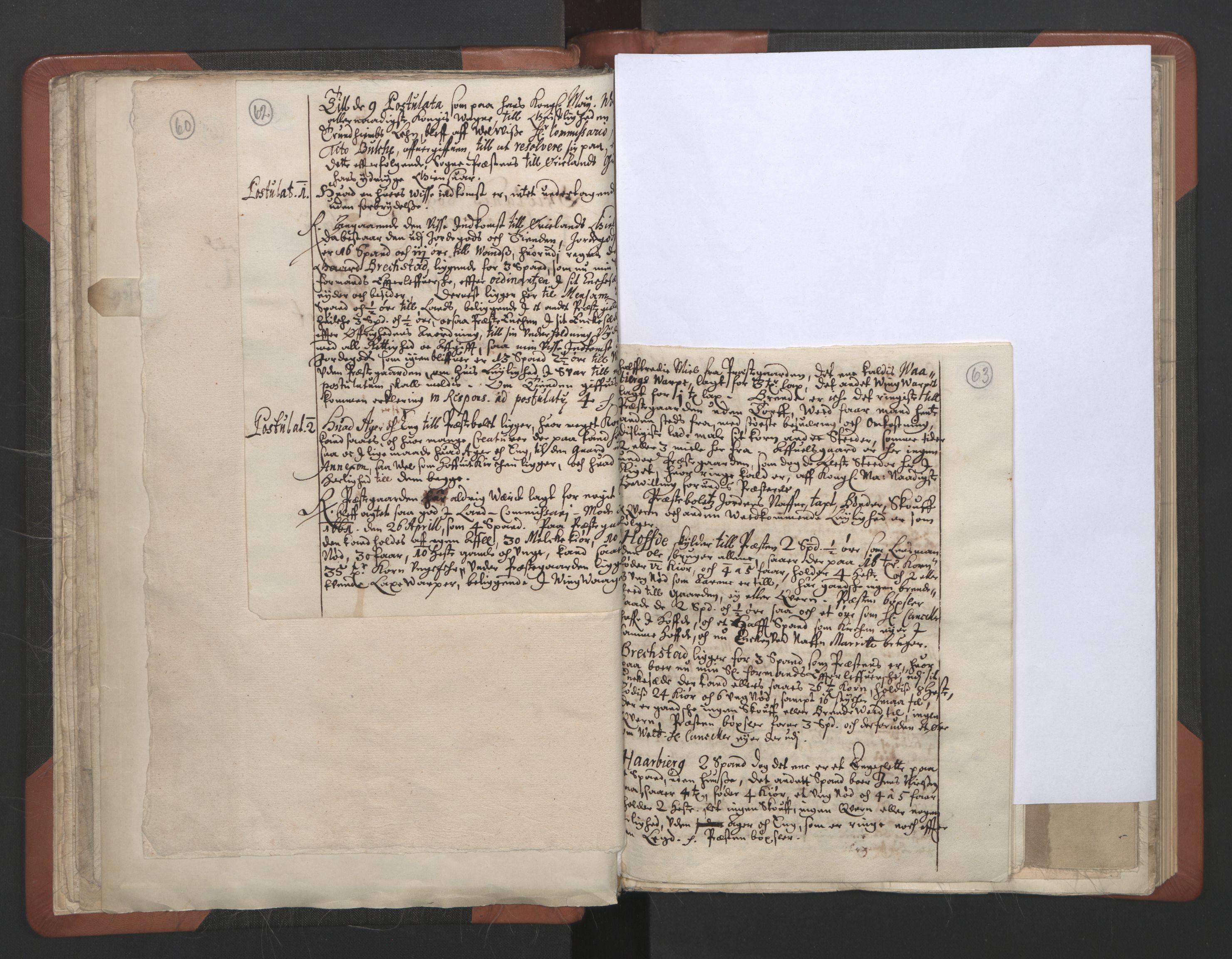 RA, Sogneprestenes manntall 1664-1666, nr. 30: Fosen prosti, 1664-1666, s. 62-63