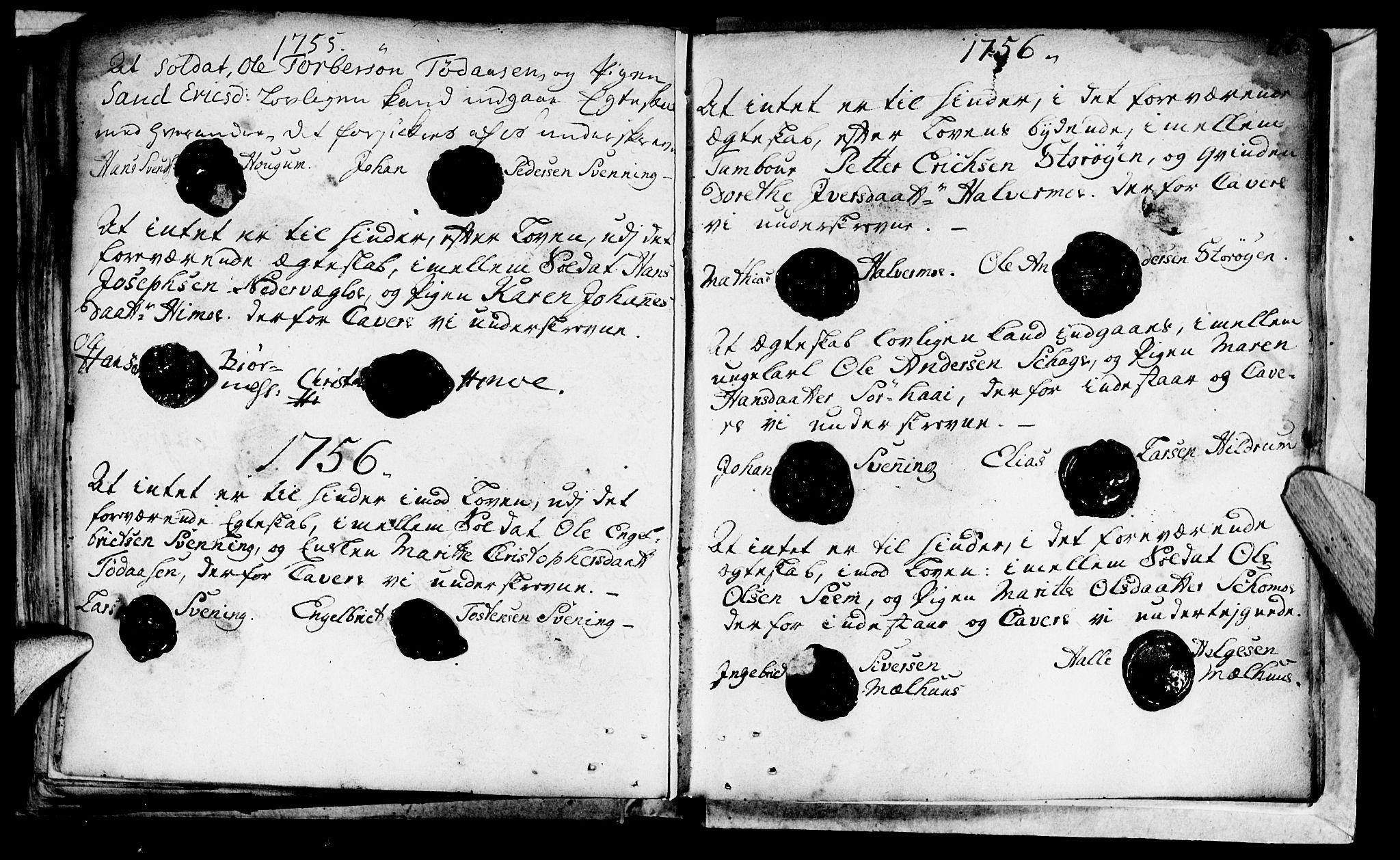 SAT, Ministerialprotokoller, klokkerbøker og fødselsregistre - Nord-Trøndelag, 764/L0541: Ministerialbok nr. 764A01, 1745-1758, s. 36