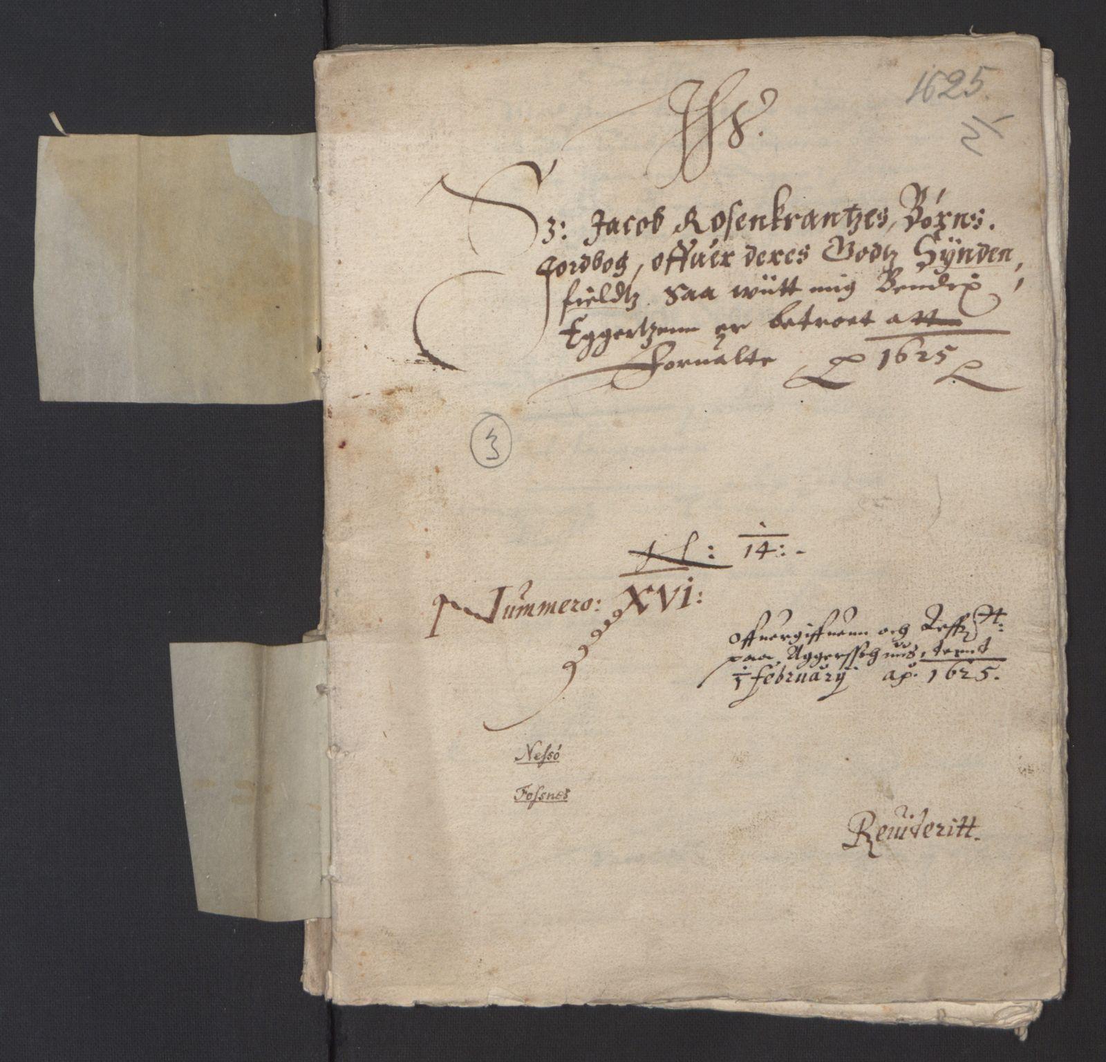RA, Stattholderembetet 1572-1771, Ek/L0007: Jordebøker til utlikning av rosstjeneste 1624-1626:, 1624-1625, s. 369