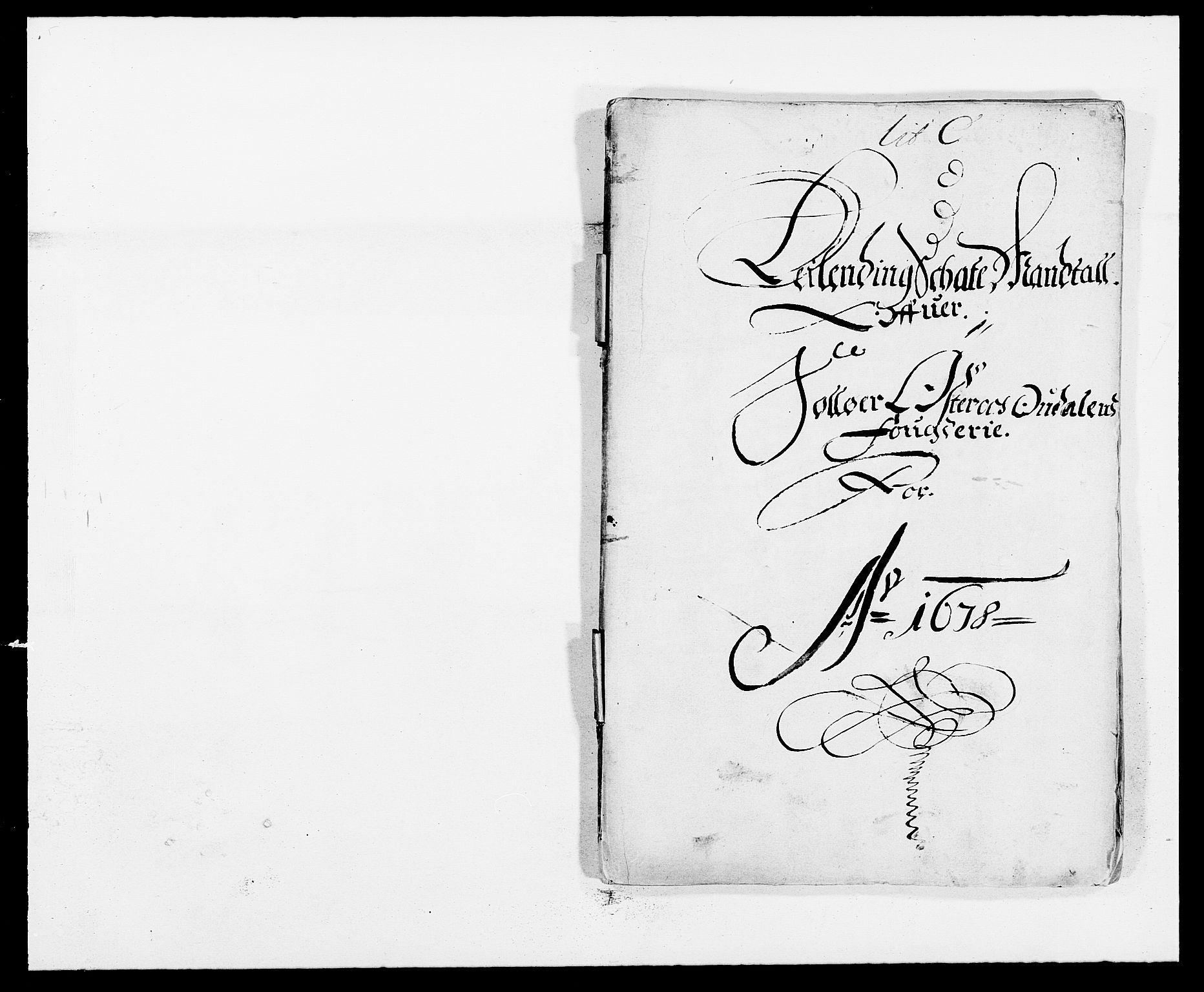 RA, Rentekammeret inntil 1814, Reviderte regnskaper, Fogderegnskap, R13/L0814: Fogderegnskap Solør, Odal og Østerdal, 1678, s. 184