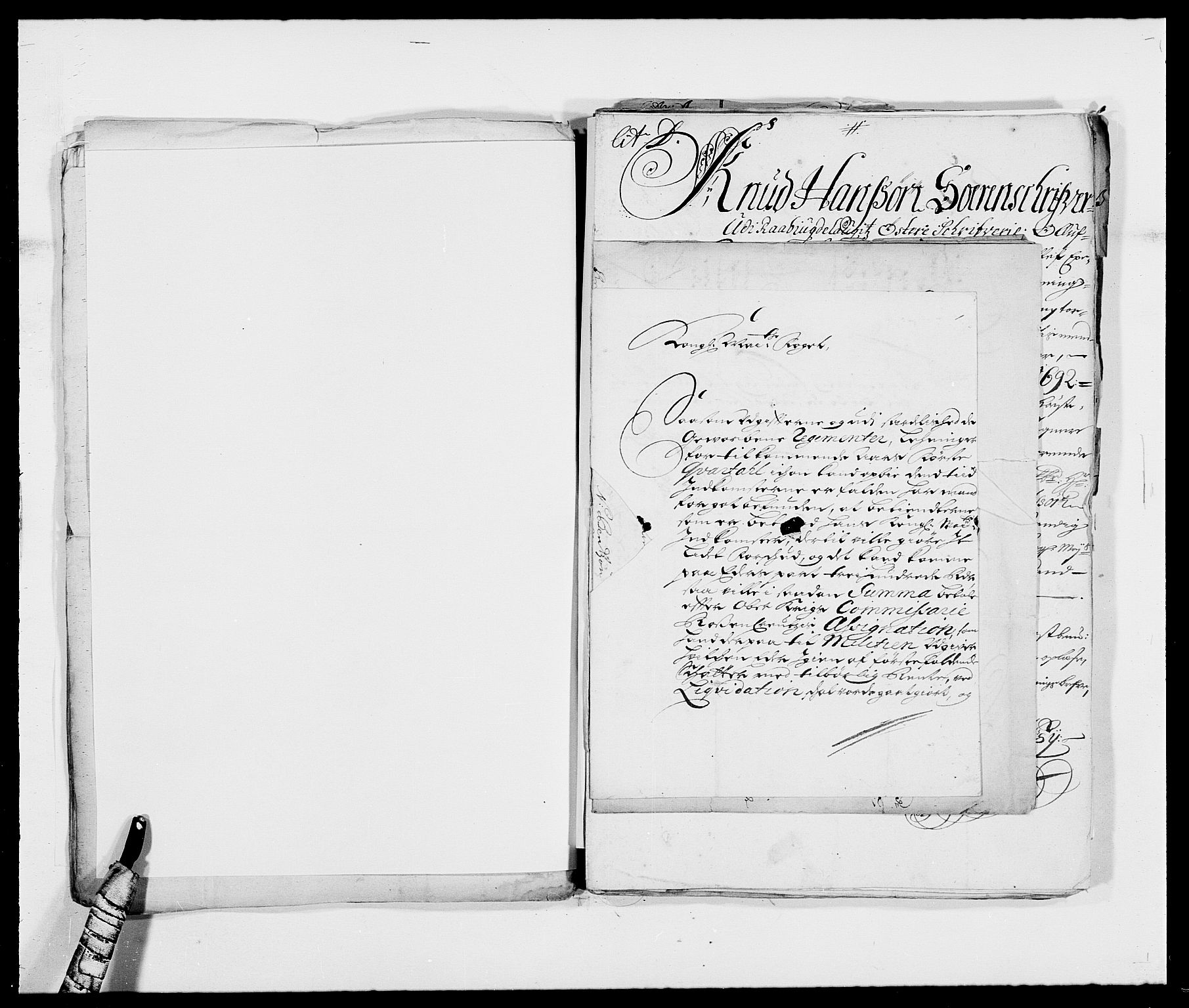 RA, Rentekammeret inntil 1814, Reviderte regnskaper, Fogderegnskap, R39/L2310: Fogderegnskap Nedenes, 1690-1692, s. 47