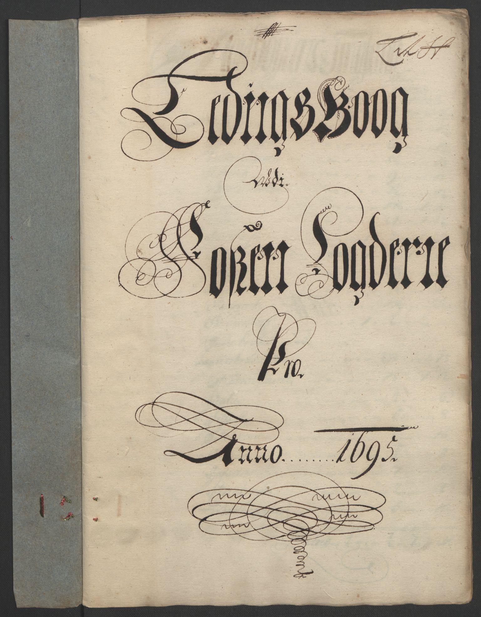 RA, Rentekammeret inntil 1814, Reviderte regnskaper, Fogderegnskap, R57/L3851: Fogderegnskap Fosen, 1695-1696, s. 125