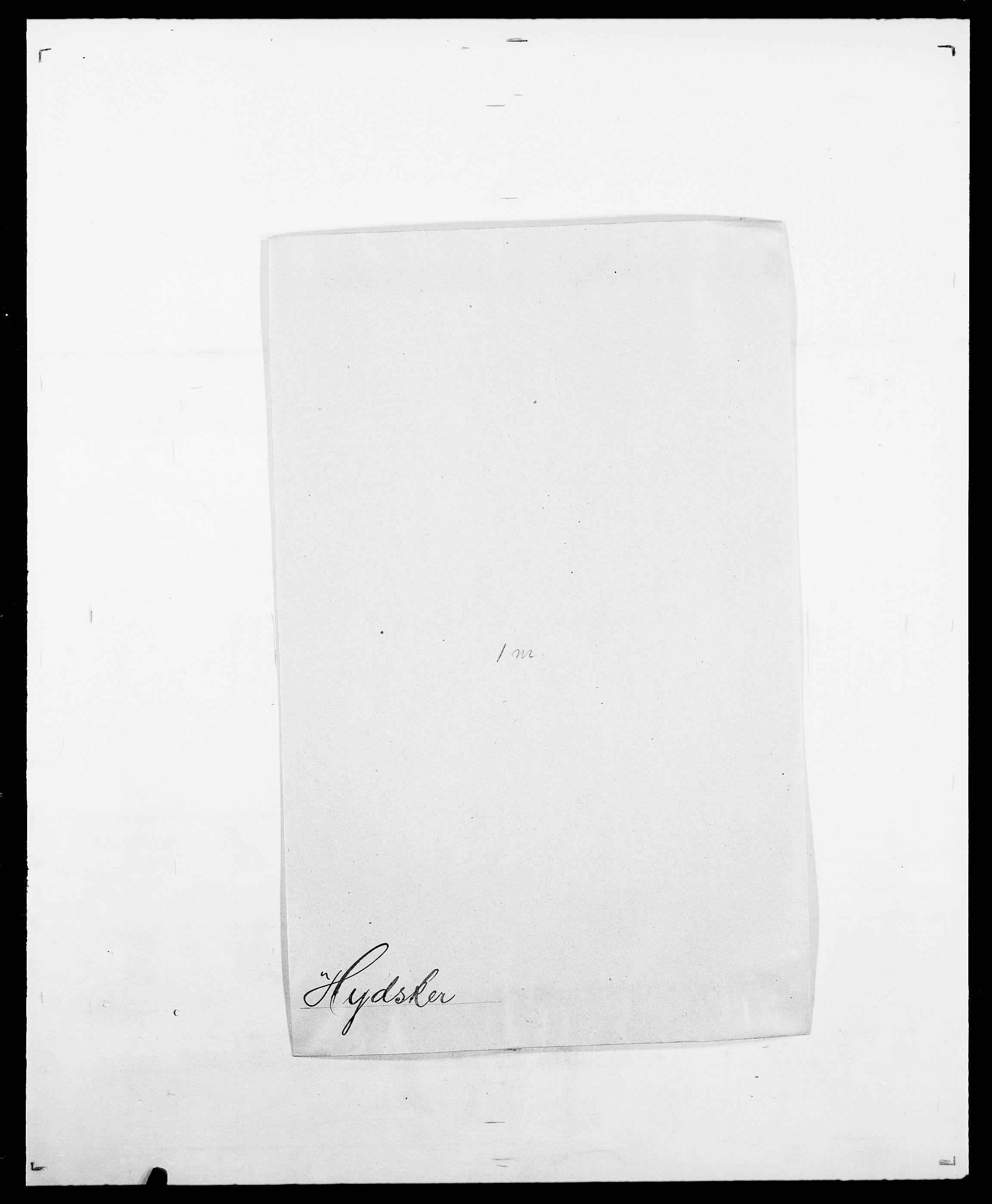 SAO, Delgobe, Charles Antoine - samling, D/Da/L0019: van der Hude - Joys, s. 243