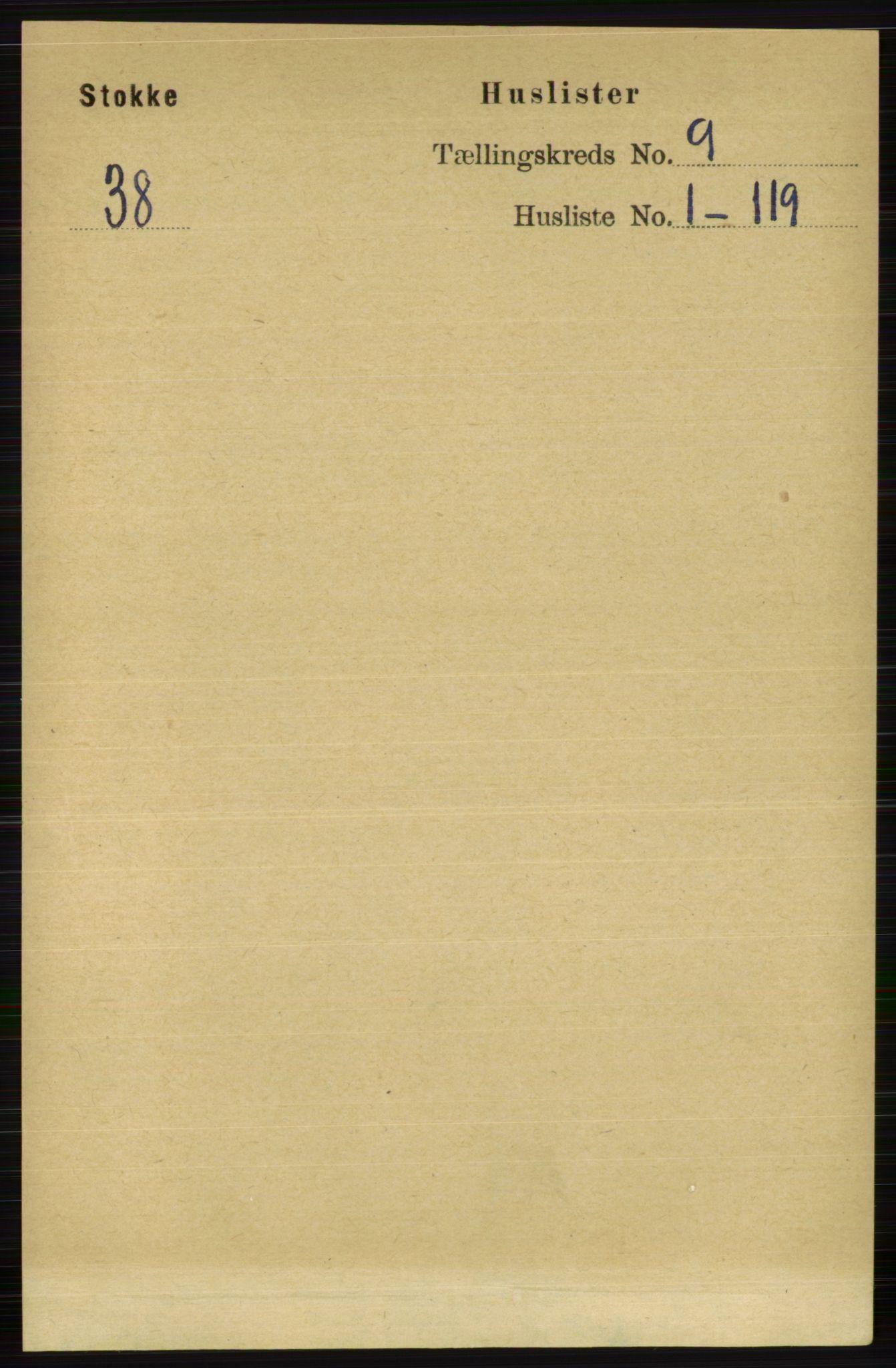 RA, Folketelling 1891 for 0720 Stokke herred, 1891, s. 5775