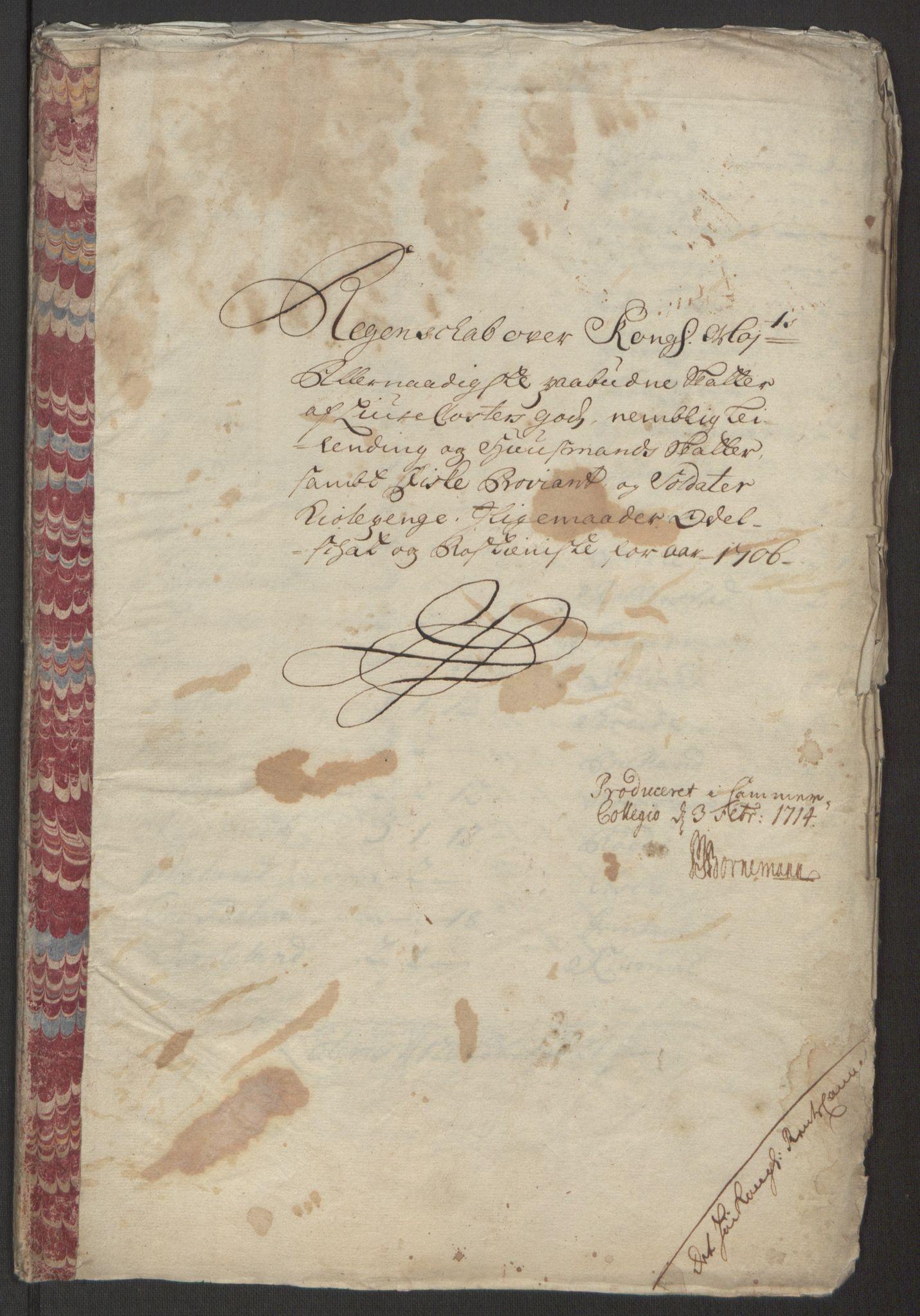 RA, Rentekammeret inntil 1814, Reviderte regnskaper, Fogderegnskap, R50/L3159: Fogderegnskap Lyse kloster, 1691-1709, s. 243