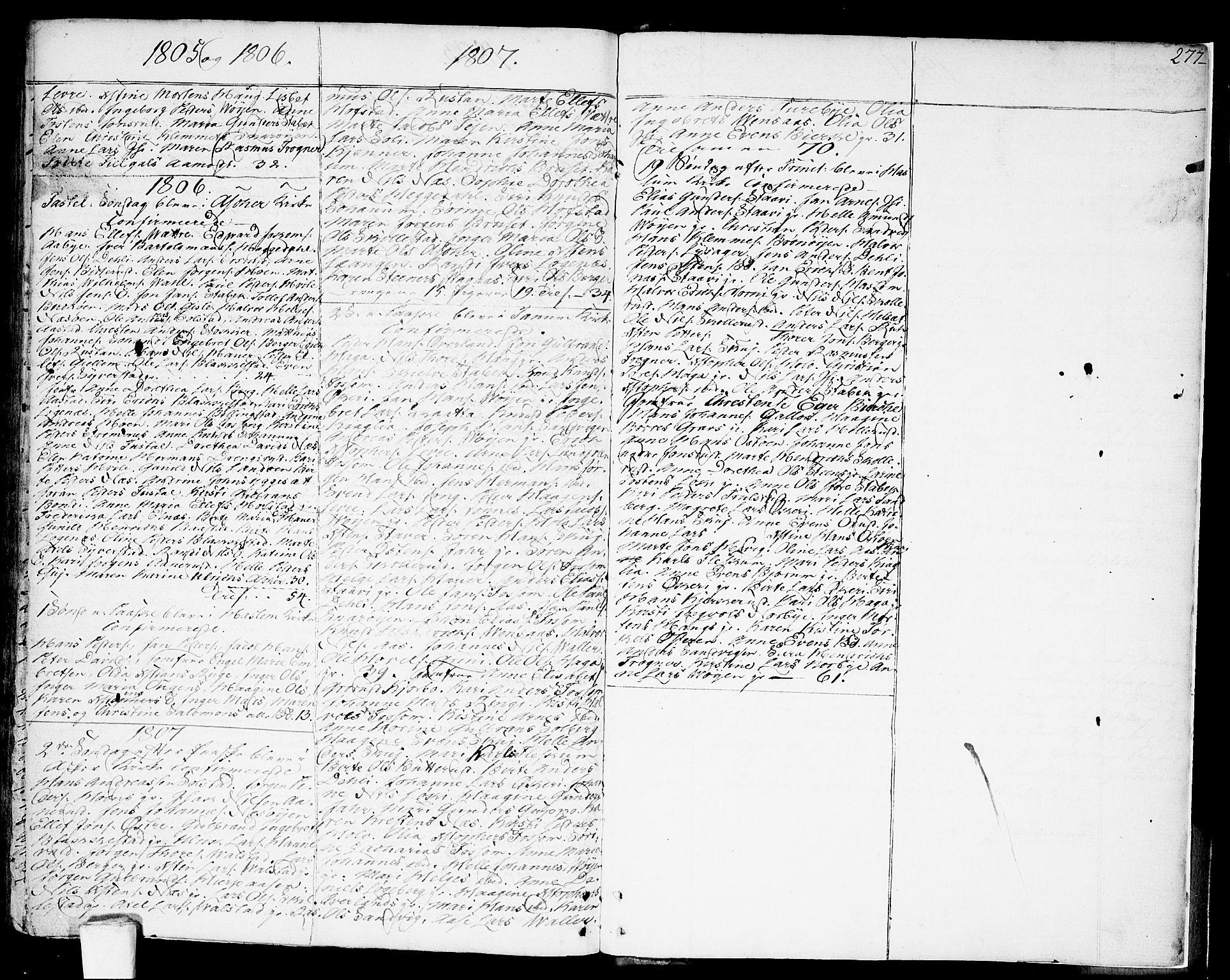 SAO, Asker prestekontor Kirkebøker, F/Fa/L0003: Ministerialbok nr. I 3, 1767-1807, s. 277