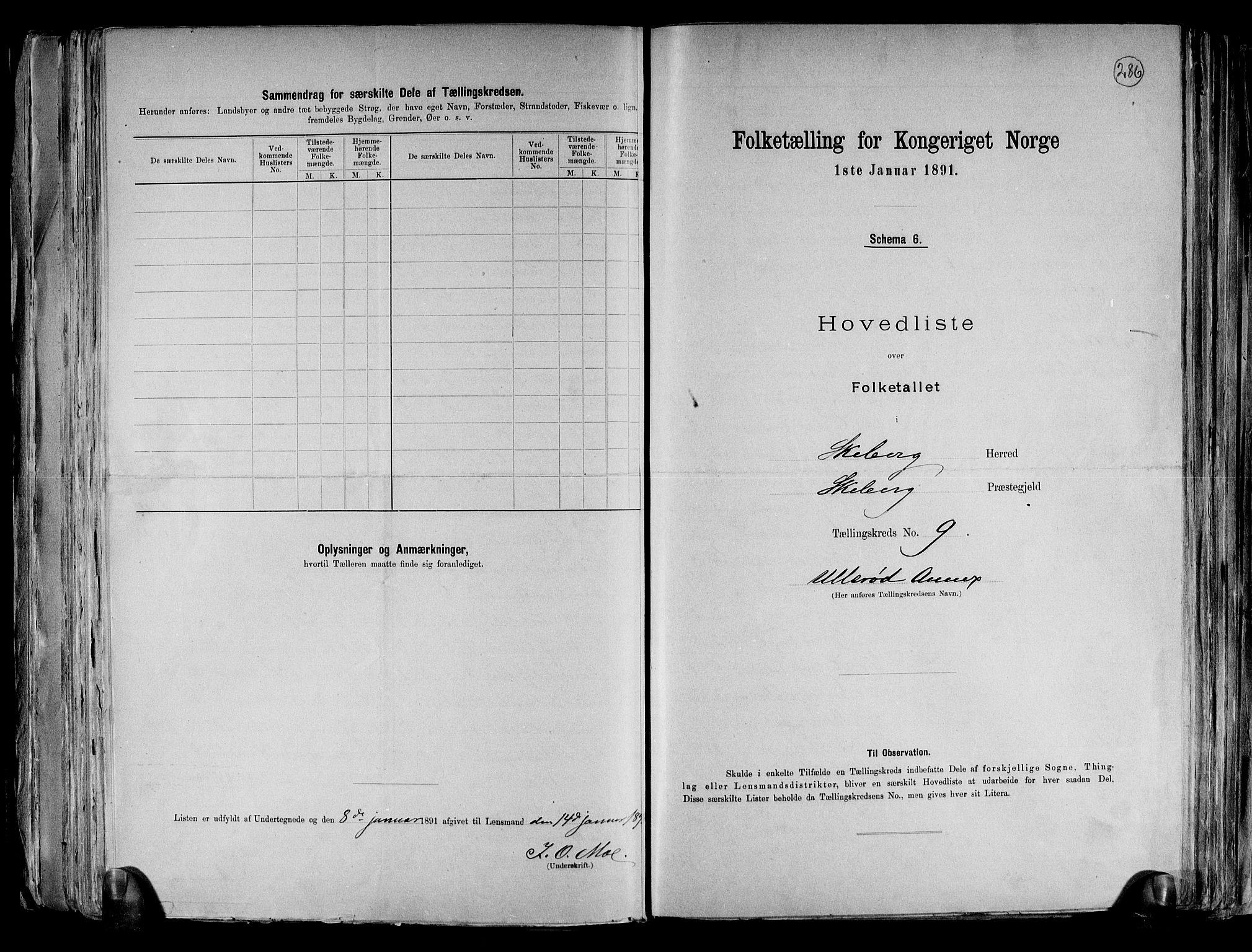 RA, Folketelling 1891 for 0115 Skjeberg herred, 1891, s. 23