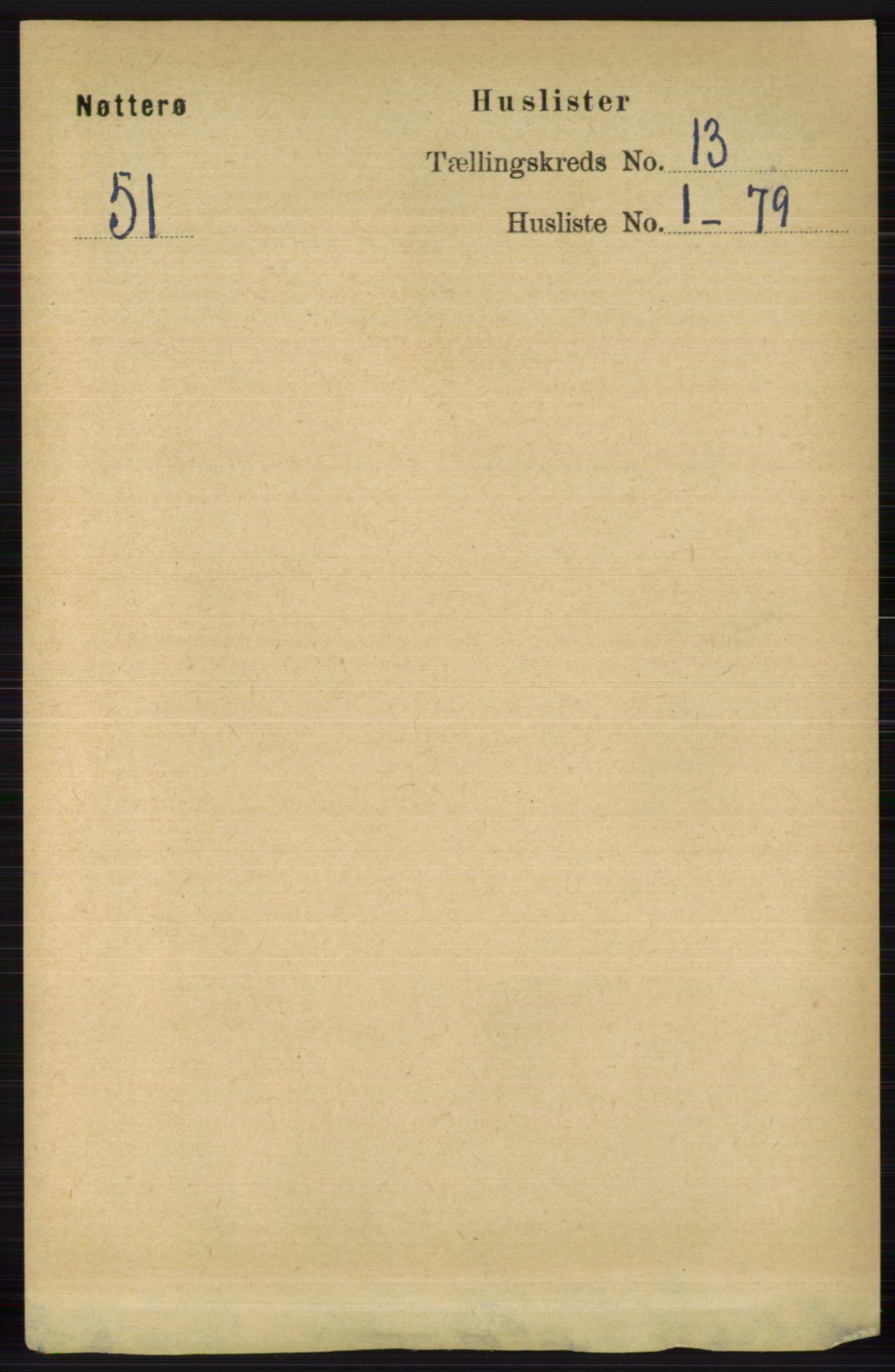 RA, Folketelling 1891 for 0722 Nøtterøy herred, 1891, s. 6931
