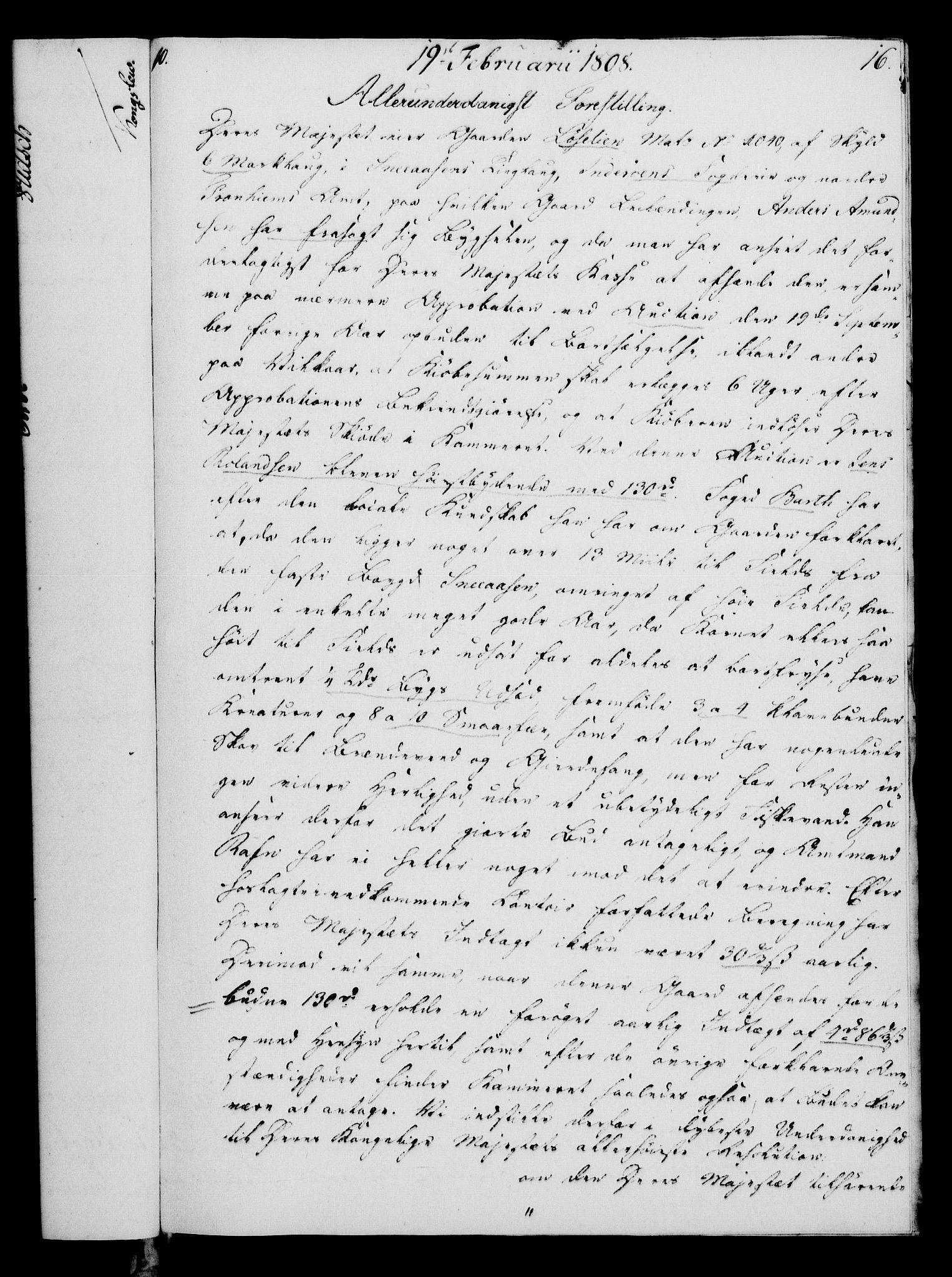 RA, Rentekammeret, Kammerkanselliet, G/Gf/Gfa/L0090: Norsk relasjons- og resolusjonsprotokoll (merket RK 52.90), 1808, s. 109