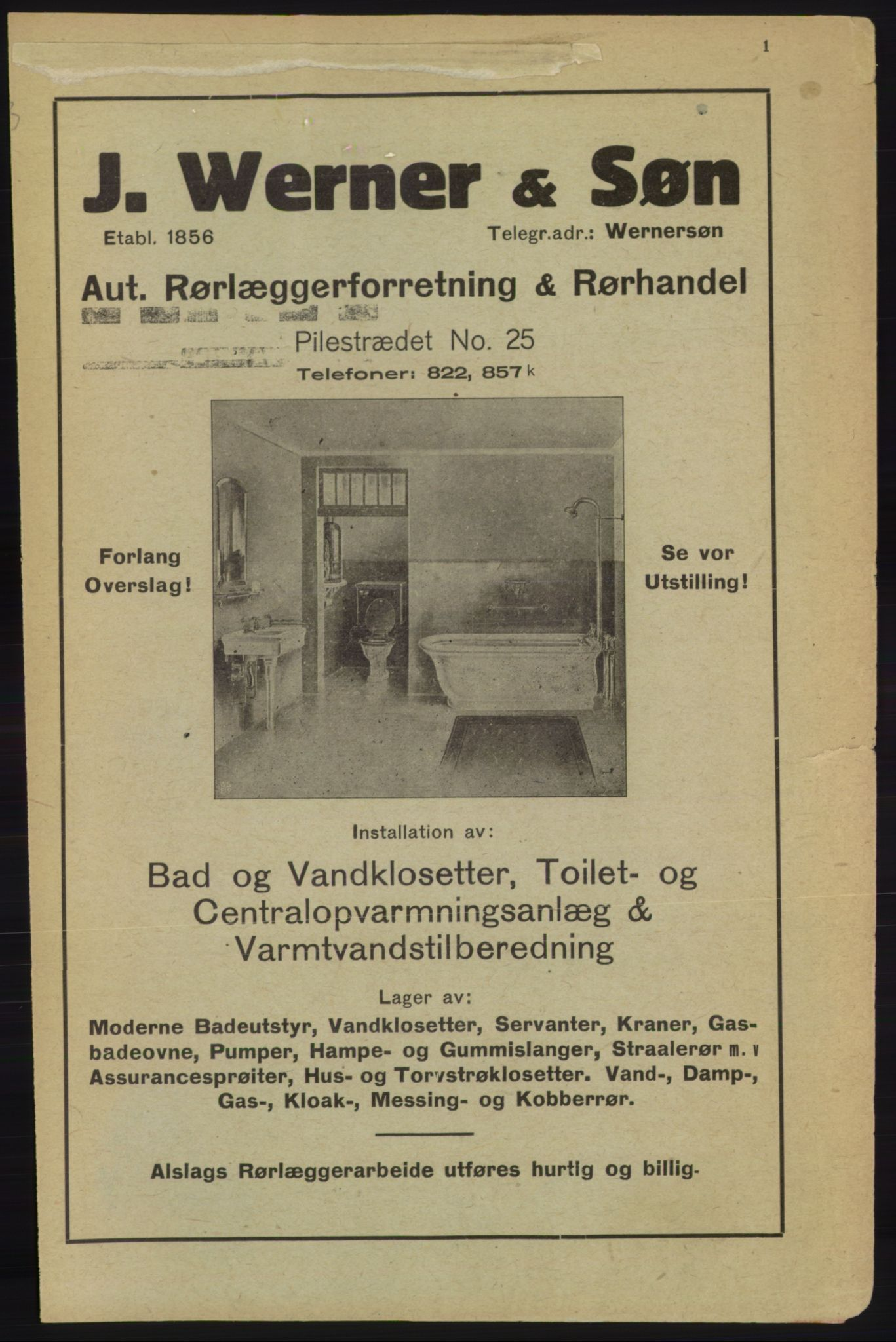 PUBL, Kristiania/Oslo adressebok, 1918, s. 4