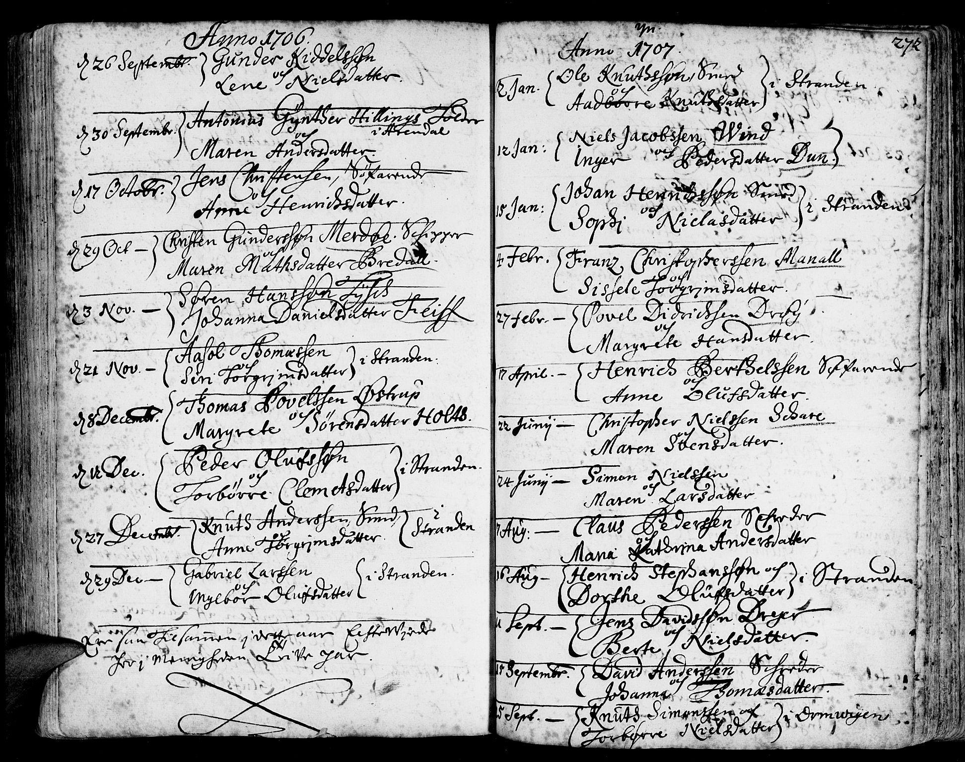 SAK, Arendal sokneprestkontor, Trefoldighet, F/Fa/L0001: Ministerialbok nr. A 1, 1703-1815, s. 348