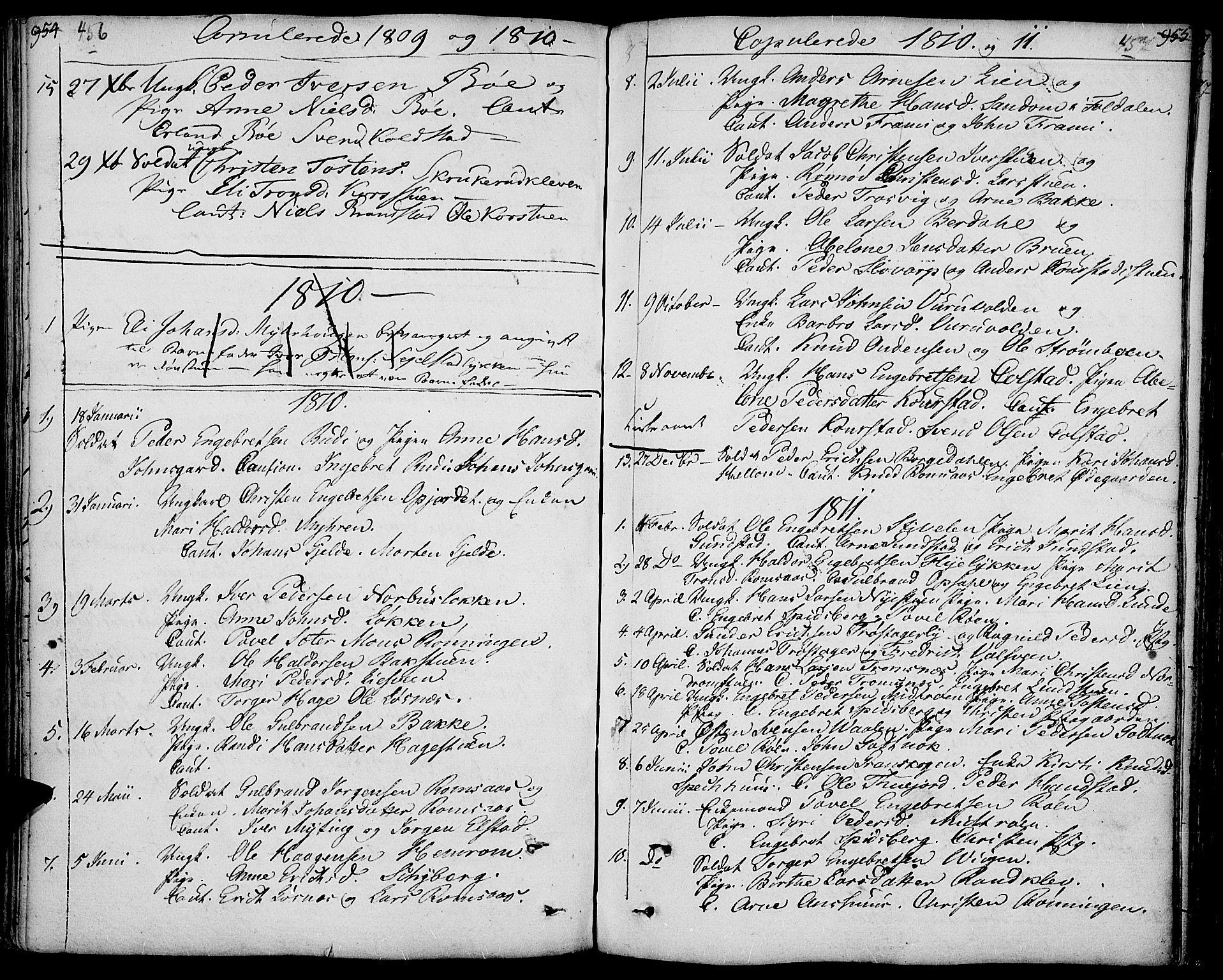 SAH, Ringebu prestekontor, Ministerialbok nr. 3, 1781-1820, s. 456-457