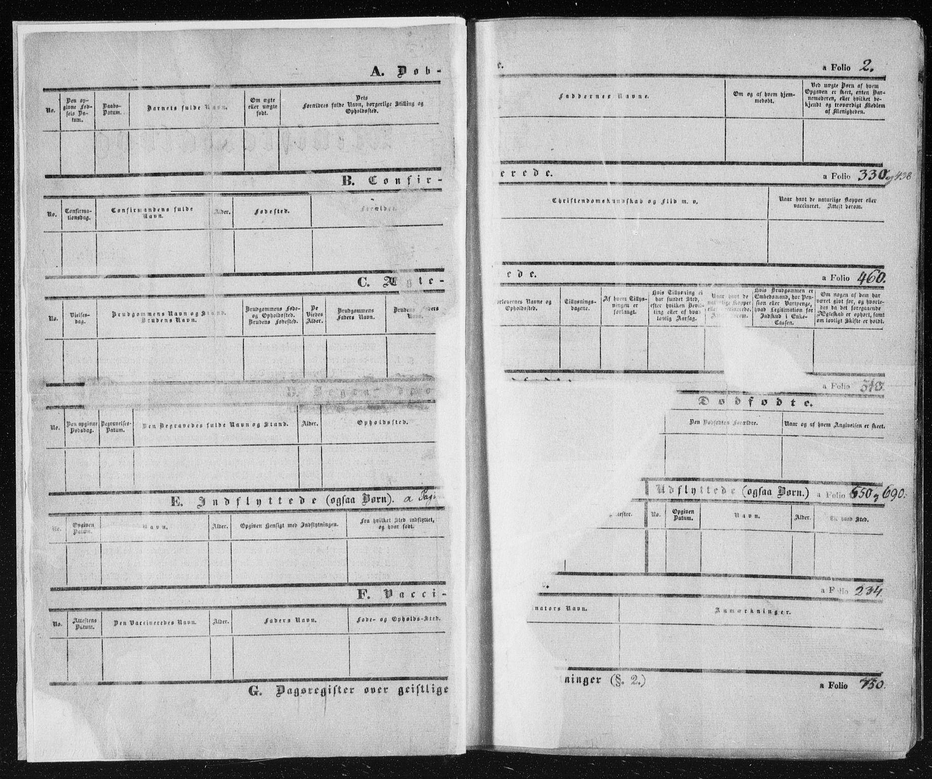 SAKO, Kongsberg kirkebøker, F/Fa/L0009: Ministerialbok nr. I 9, 1839-1858