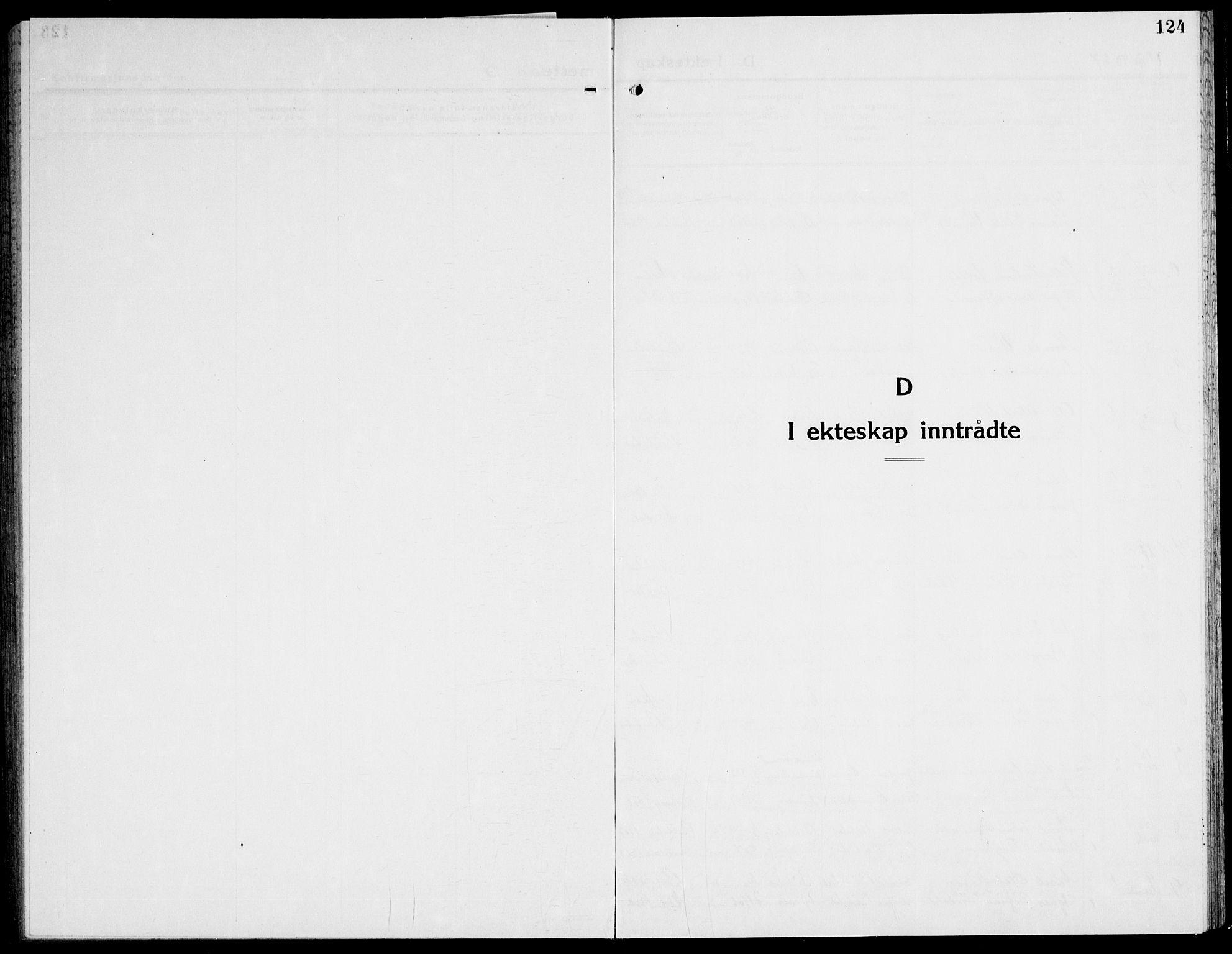 SAT, Ministerialprotokoller, klokkerbøker og fødselsregistre - Nord-Trøndelag, 741/L0403: Ministerialbok nr. 741C04, 1925-1944, s. 124