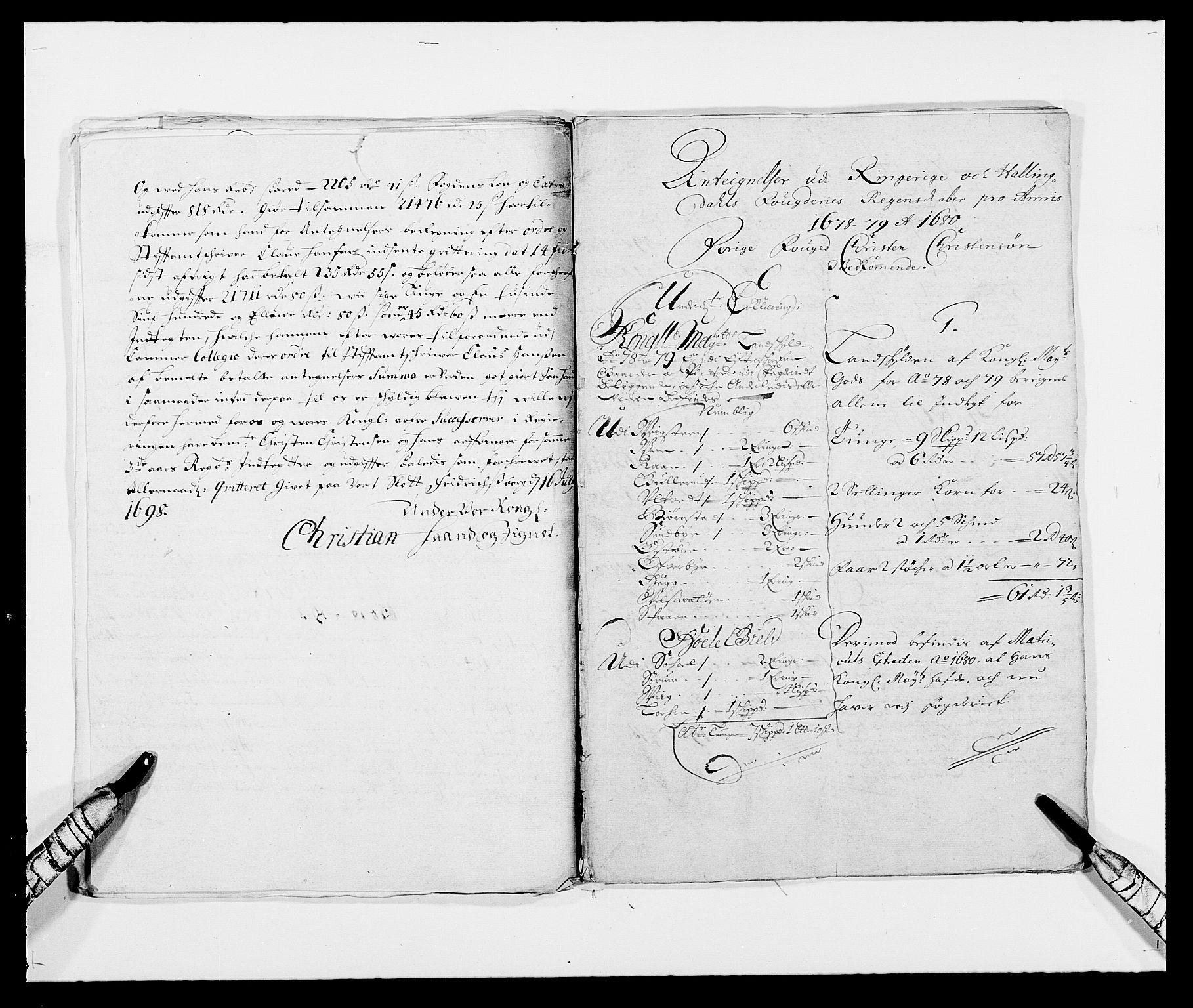 RA, Rentekammeret inntil 1814, Reviderte regnskaper, Fogderegnskap, R21/L1444: Fogderegnskap Ringerike og Hallingdal, 1680-1681, s. 142