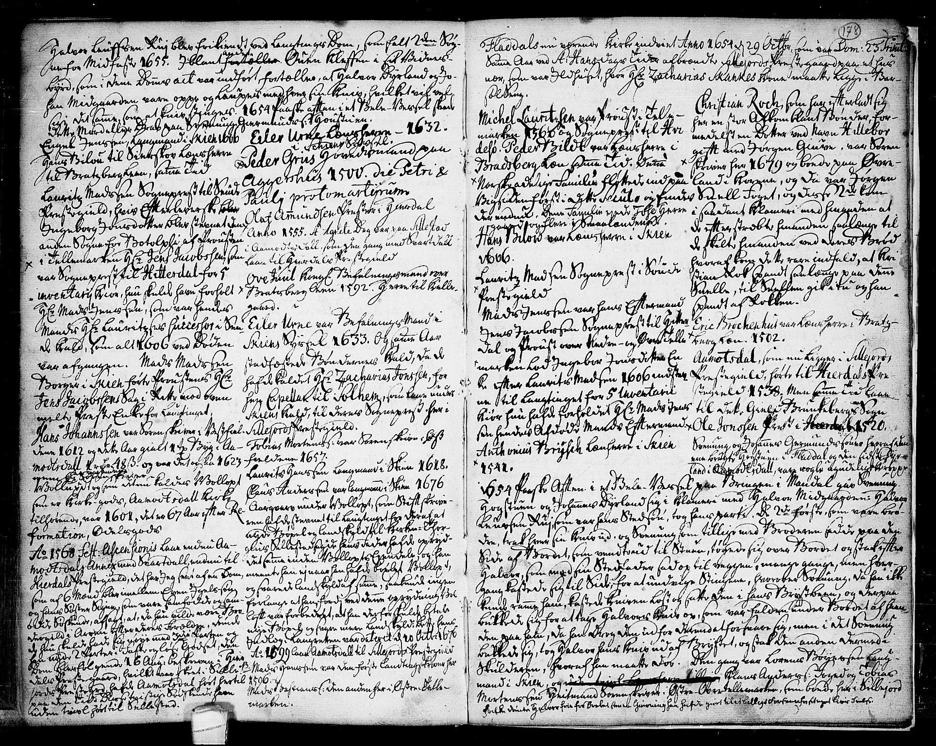 SAKO, Seljord kirkebøker, F/Fa/L0007: Ministerialbok nr. I 7, 1755-1800, s. 178