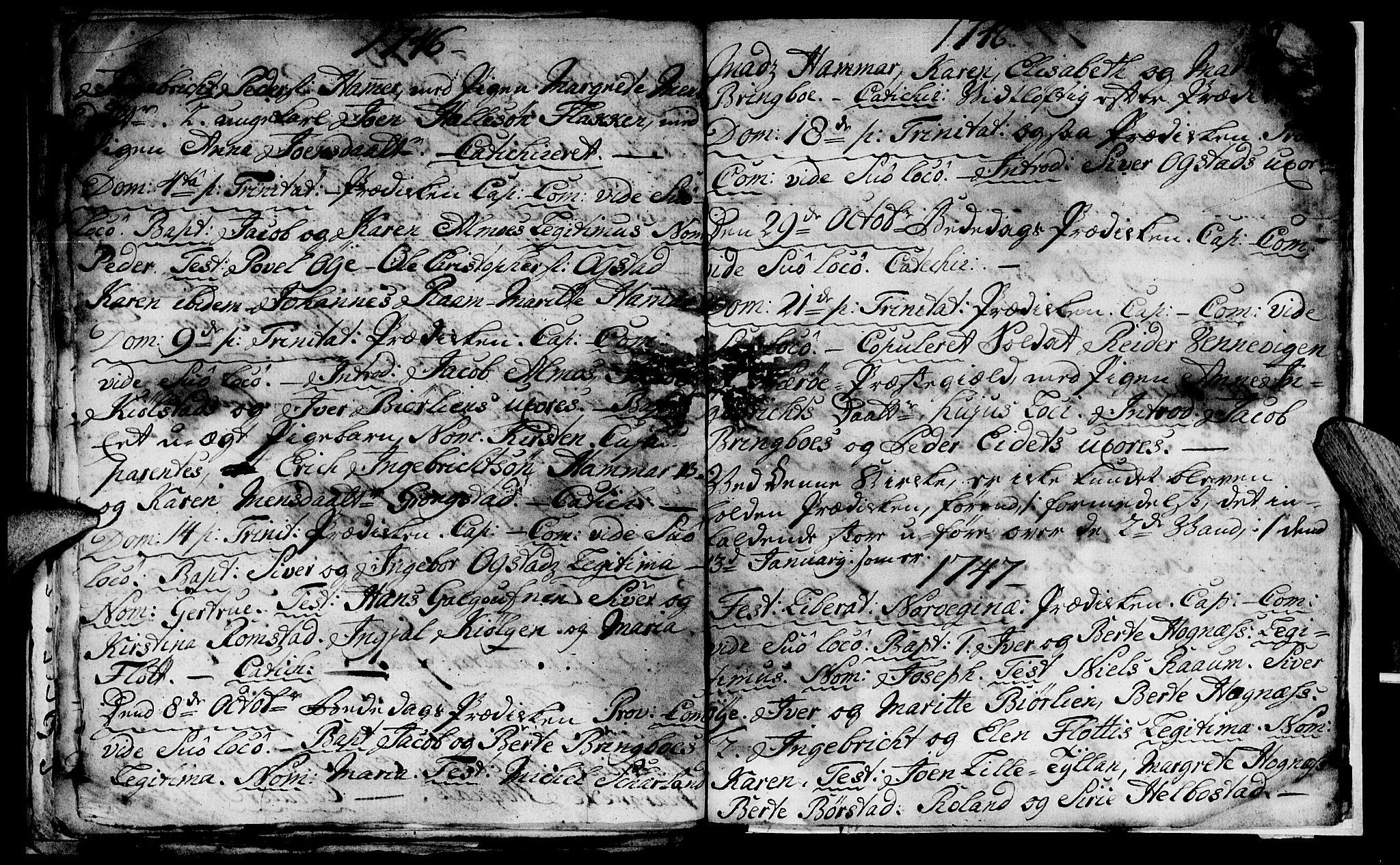 SAT, Ministerialprotokoller, klokkerbøker og fødselsregistre - Nord-Trøndelag, 765/L0560: Ministerialbok nr. 765A01, 1706-1748, s. 37