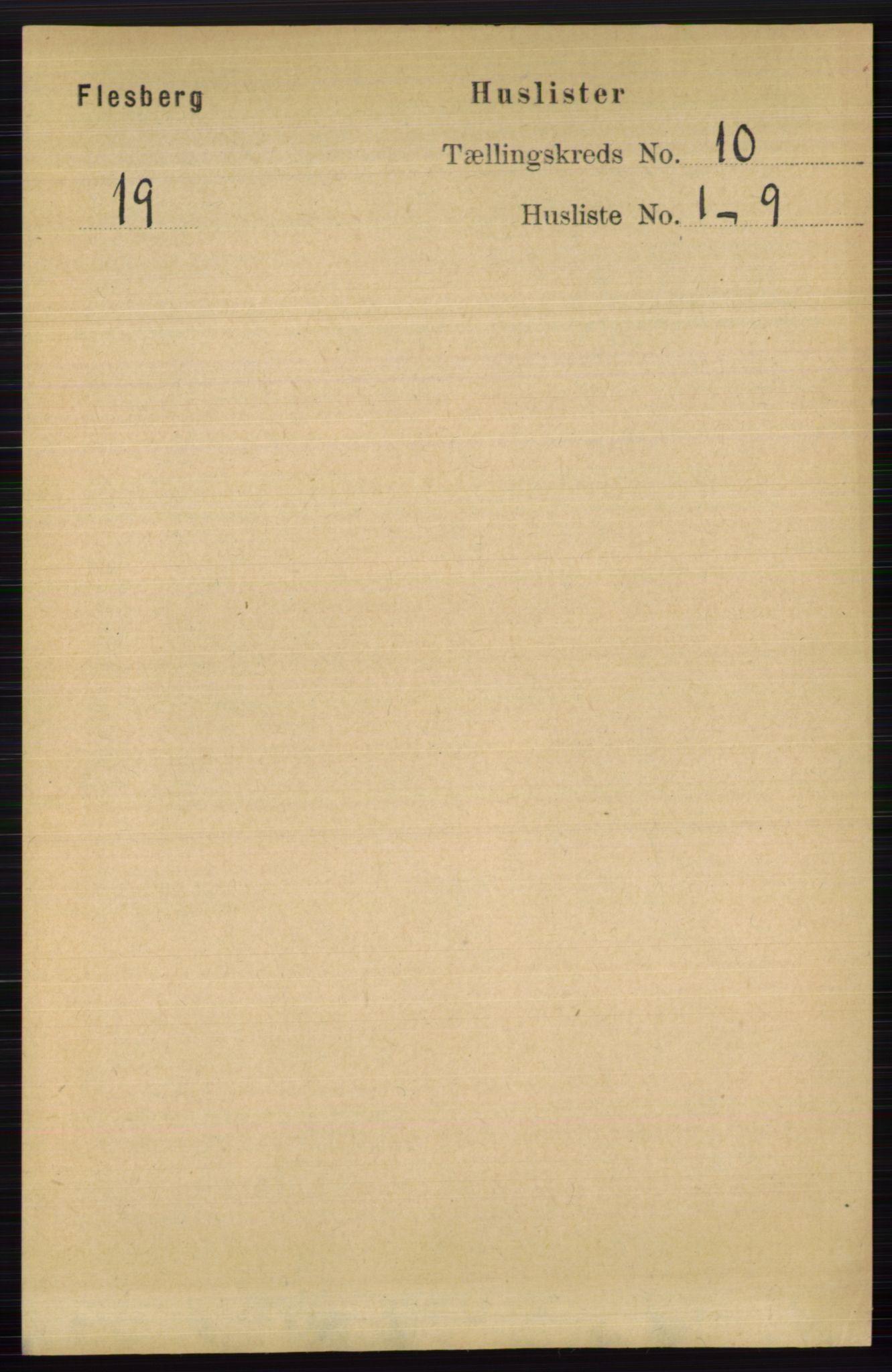 RA, Folketelling 1891 for 0631 Flesberg herred, 1891, s. 1654