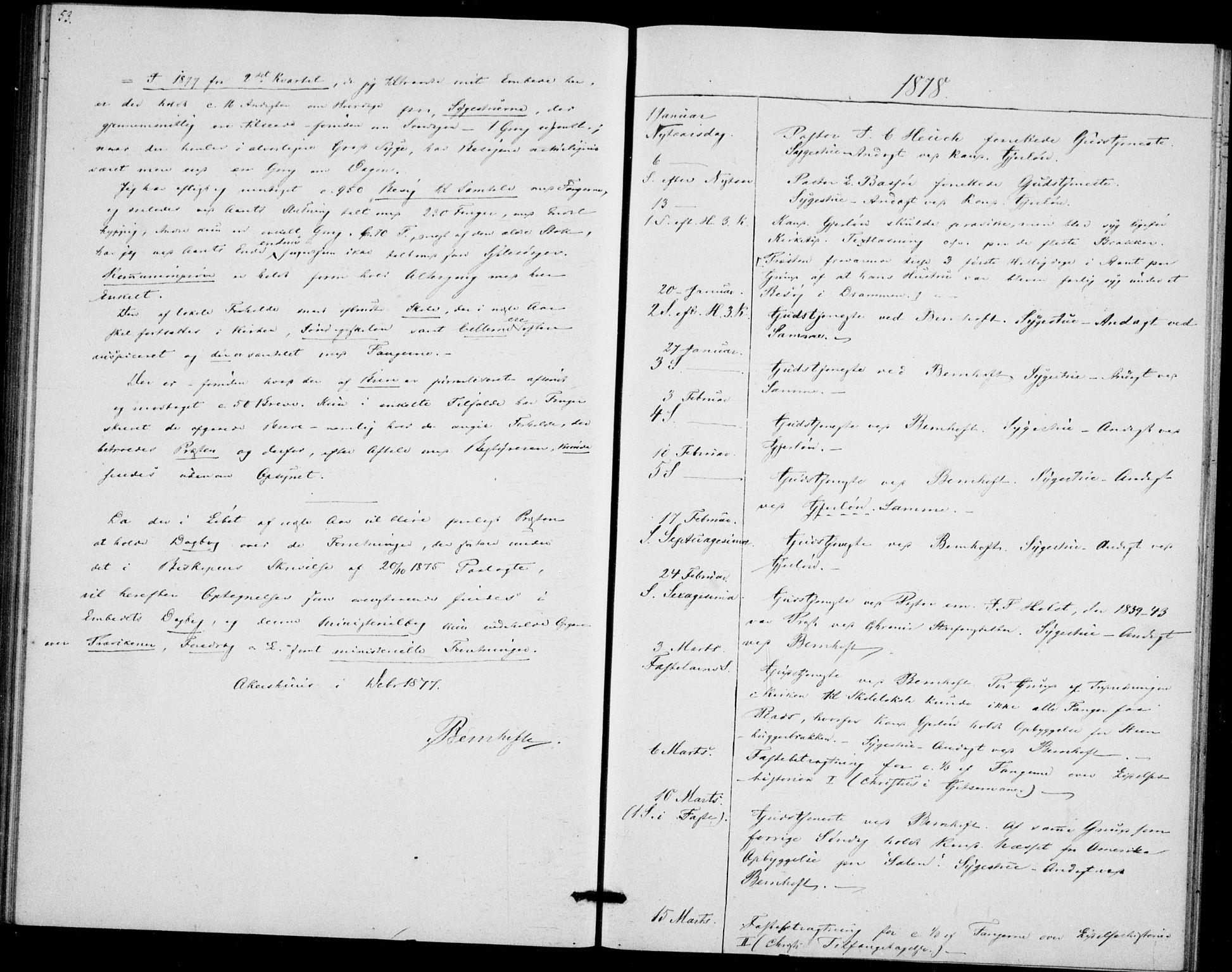 SAO, Akershus festnings slaveri Kirkebøker, F/Fa/L0002: Ministerialbok nr. 2, 1852-1883, s. 53