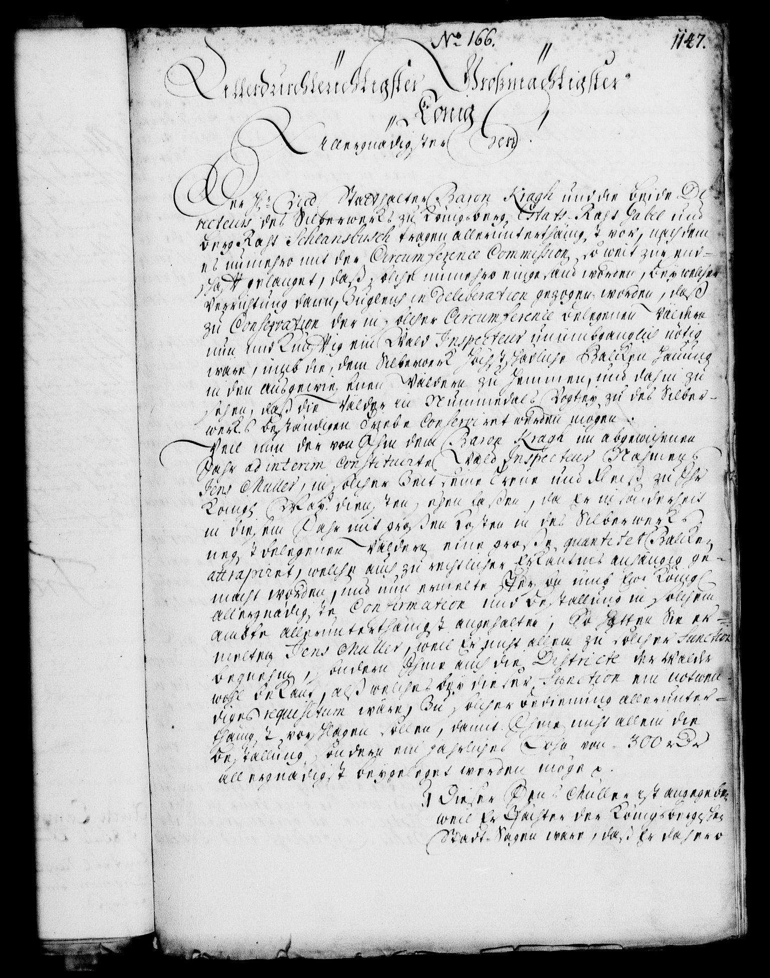 RA, Rentekammeret, Kammerkanselliet, G/Gf/Gfa/L0003: Norsk relasjons- og resolusjonsprotokoll (merket RK 52.3), 1720, s. 121