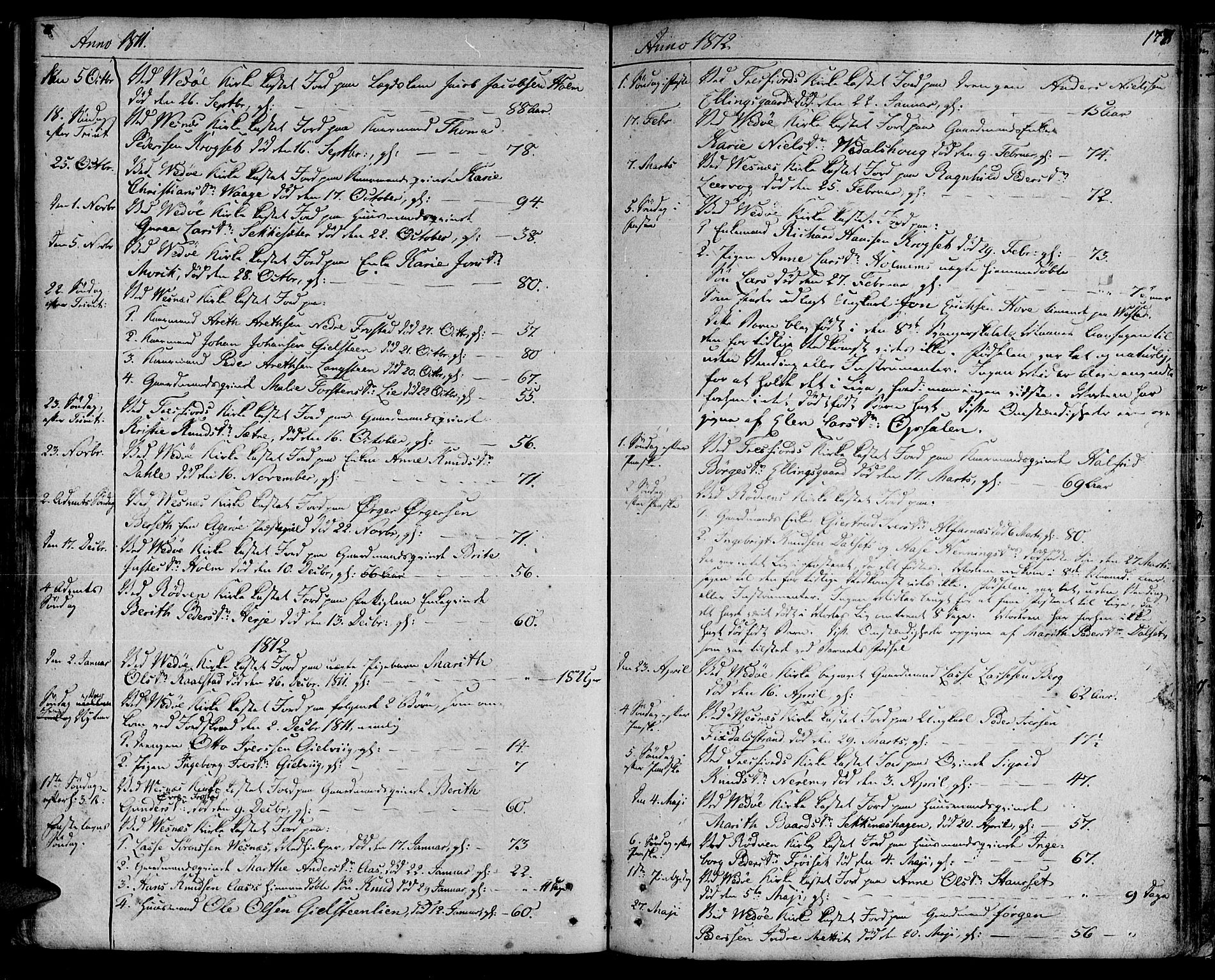 SAT, Ministerialprotokoller, klokkerbøker og fødselsregistre - Møre og Romsdal, 547/L0601: Ministerialbok nr. 547A03, 1799-1818, s. 177