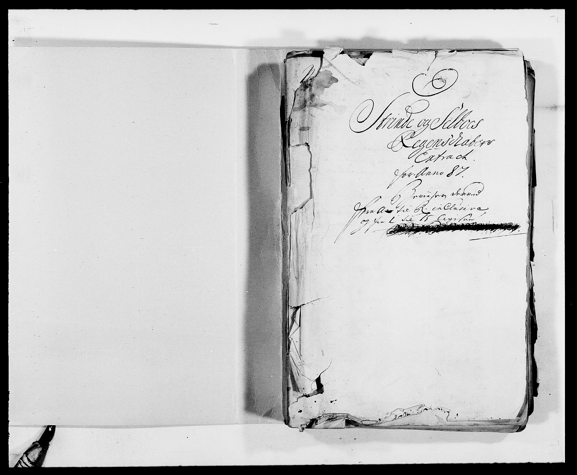 RA, Rentekammeret inntil 1814, Reviderte regnskaper, Fogderegnskap, R61/L4101: Fogderegnskap Strinda og Selbu, 1687-1688, s. 2