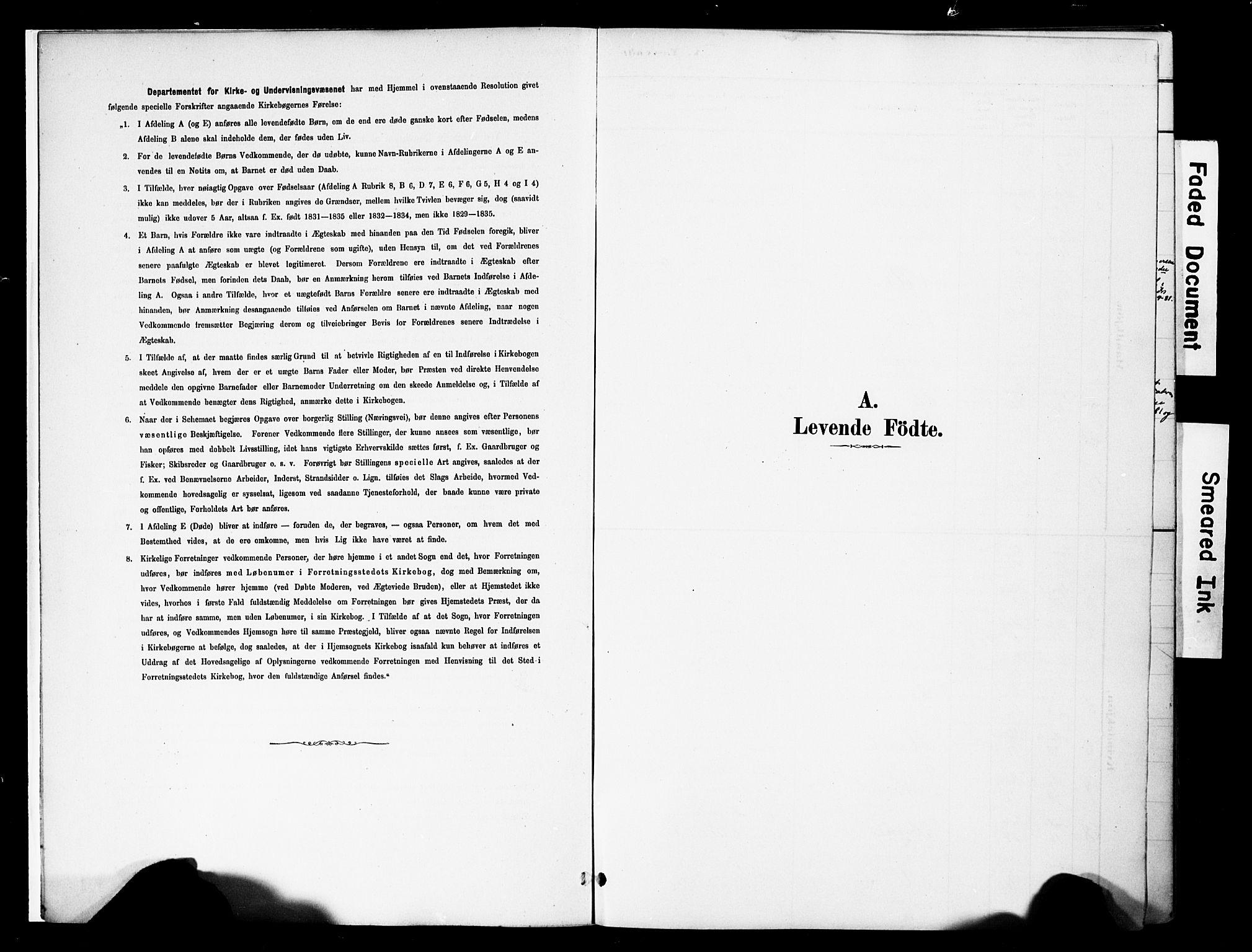 SAH, Vestre Slidre prestekontor, Ministerialbok nr. 5, 1881-1912