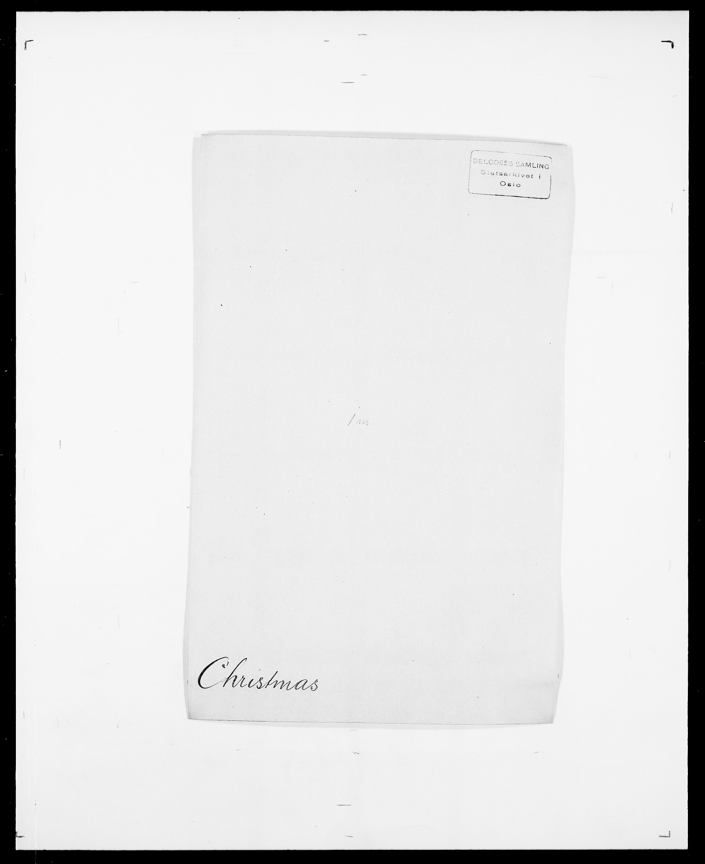 SAO, Delgobe, Charles Antoine - samling, D/Da/L0008: Capjon - Dagenbolt, s. 277