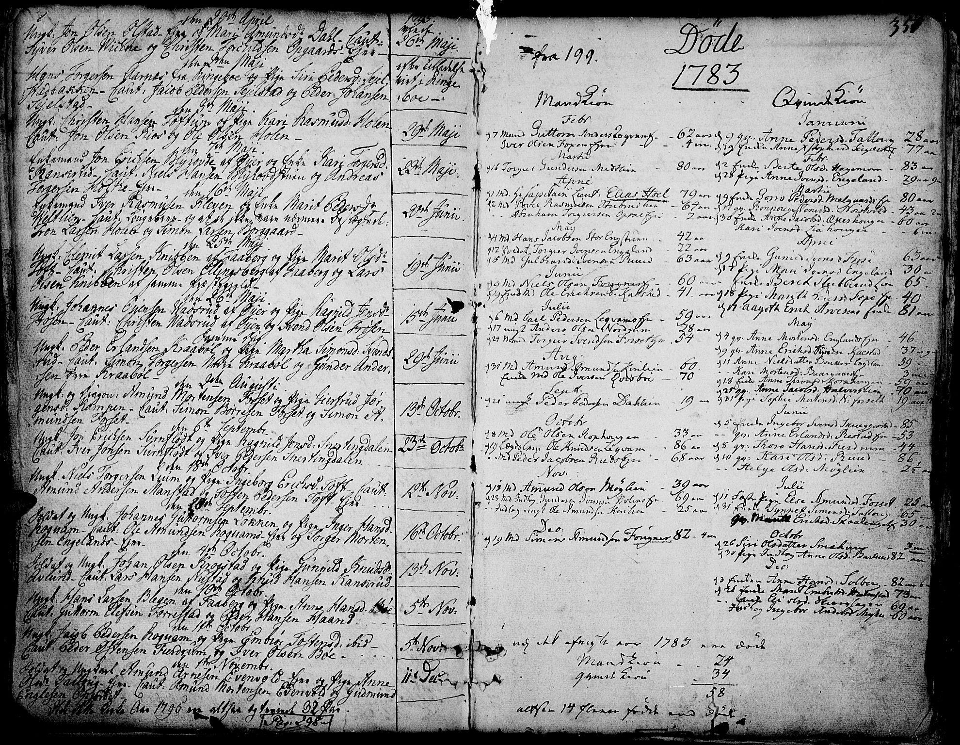SAH, Gausdal prestekontor, Ministerialbok nr. 3, 1758-1809, s. 351