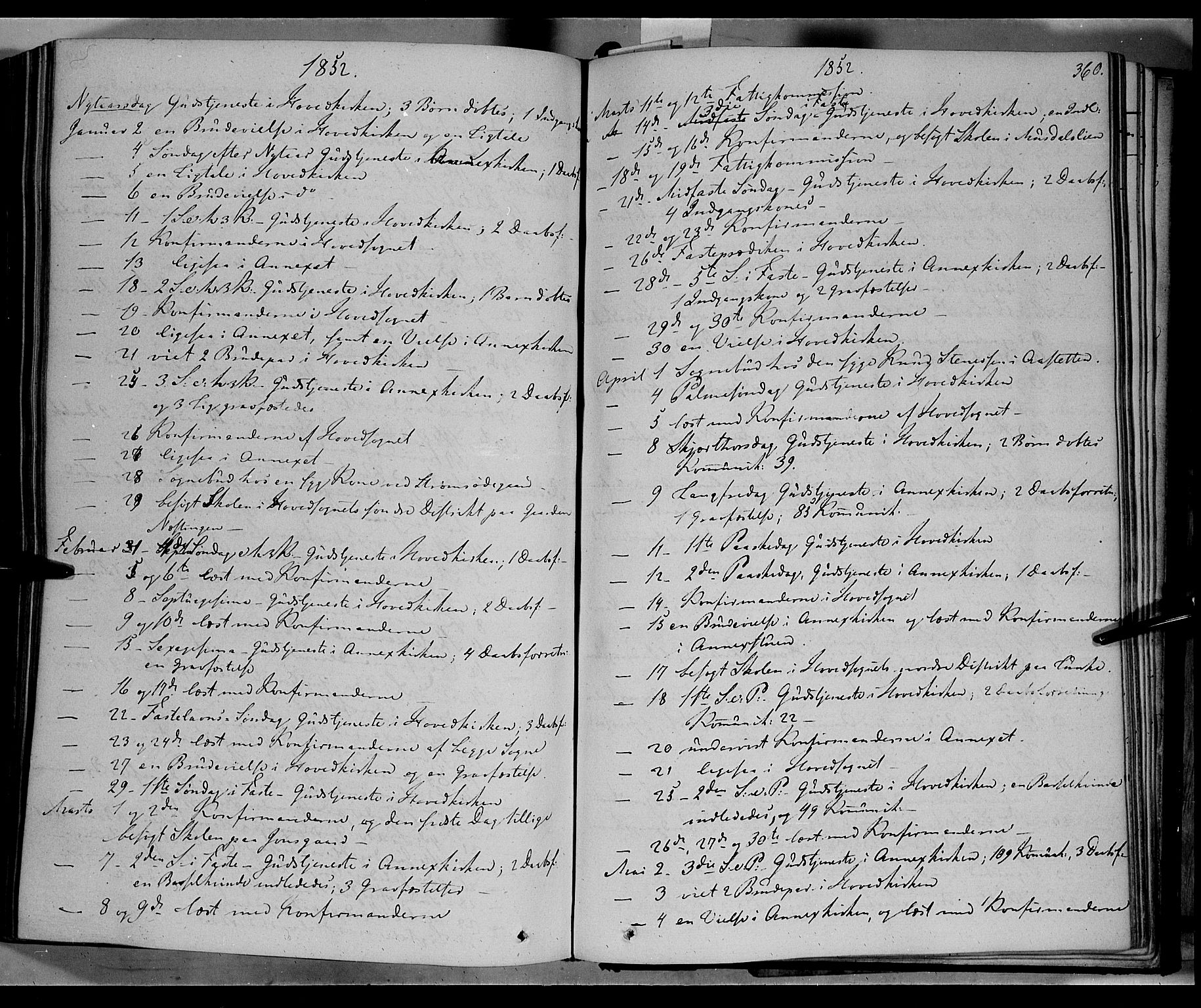 SAH, Øyer prestekontor, Ministerialbok nr. 5, 1842-1857, s. 360
