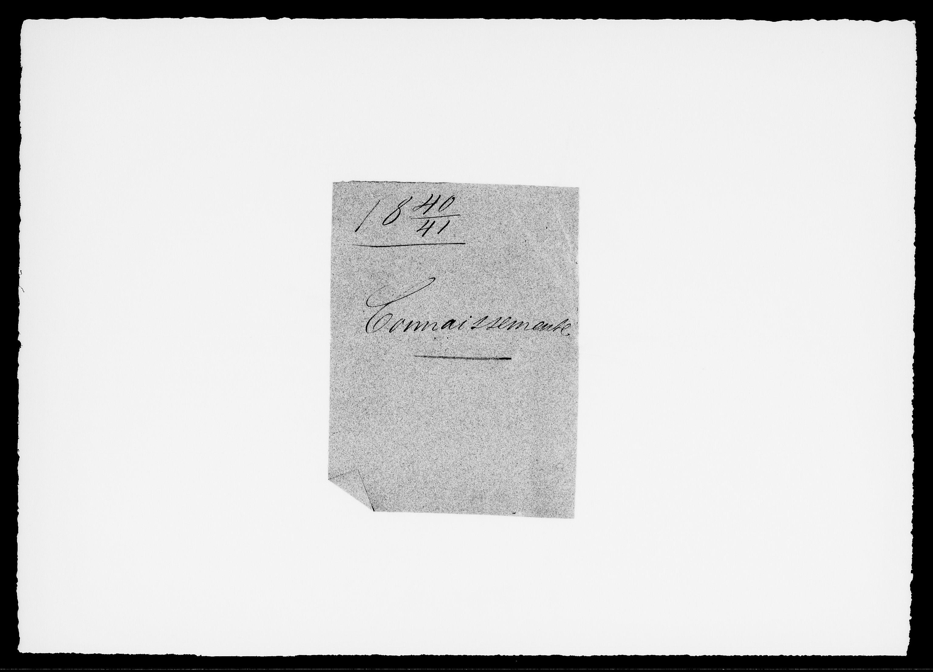 RA, Modums Blaafarveværk, G/Gd/Gdc/L0227, 1840-1849, s. 2