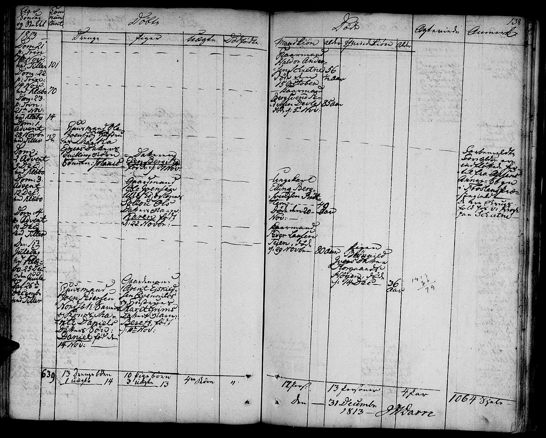 SAT, Ministerialprotokoller, klokkerbøker og fødselsregistre - Sør-Trøndelag, 618/L0438: Ministerialbok nr. 618A03, 1783-1815, s. 138