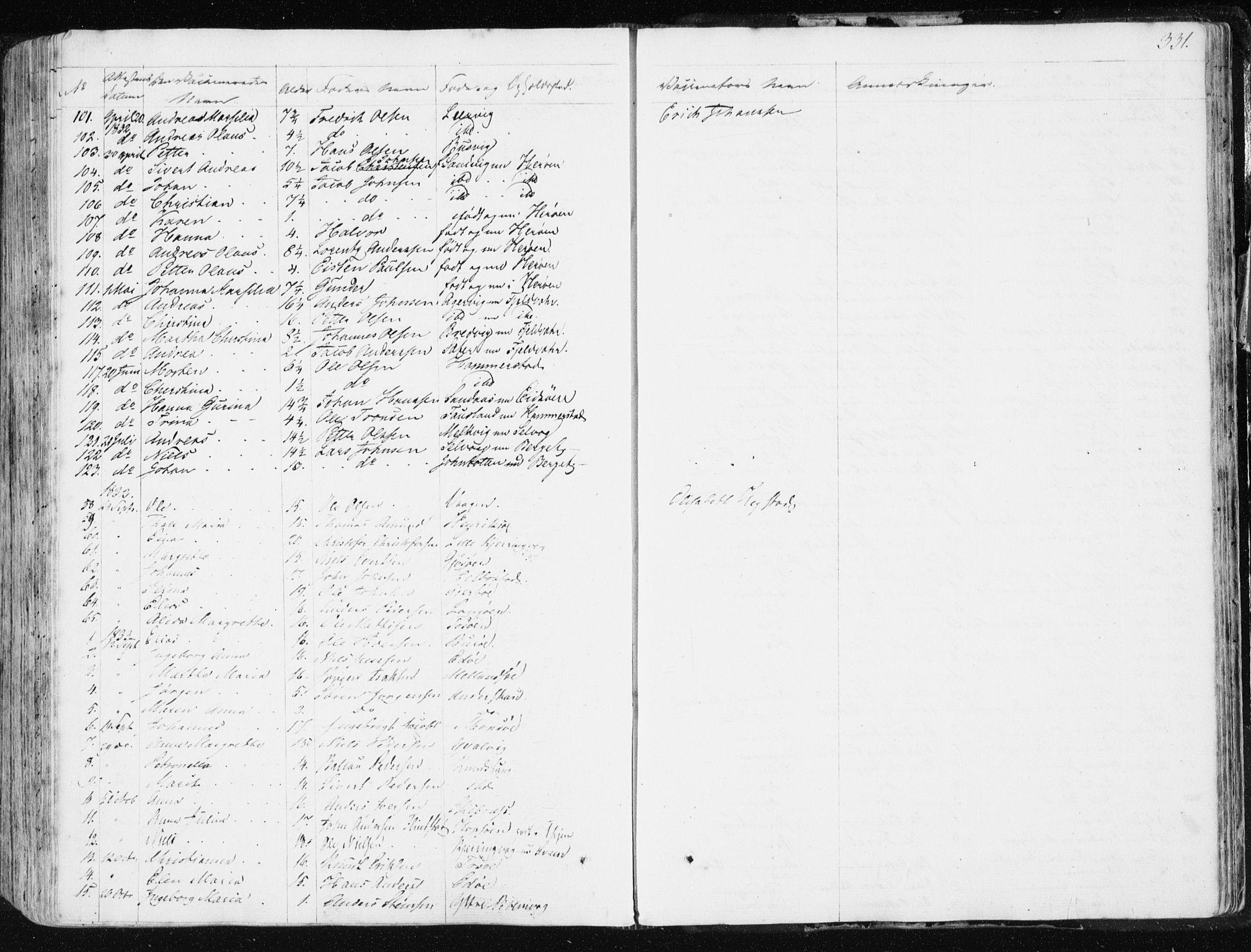 SAT, Ministerialprotokoller, klokkerbøker og fødselsregistre - Sør-Trøndelag, 634/L0528: Ministerialbok nr. 634A04, 1827-1842, s. 331