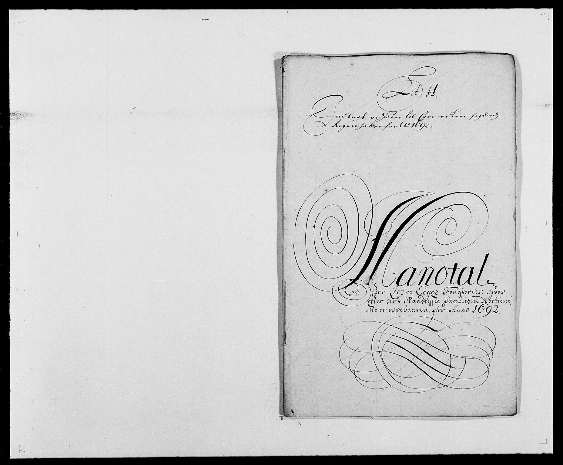RA, Rentekammeret inntil 1814, Reviderte regnskaper, Fogderegnskap, R28/L1690: Fogderegnskap Eiker og Lier, 1692-1693, s. 69
