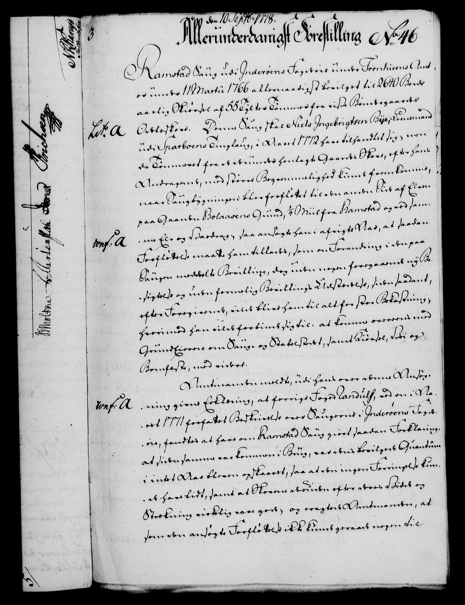 RA, Rentekammeret, Kammerkanselliet, G/Gf/Gfa/L0060: Norsk relasjons- og resolusjonsprotokoll (merket RK 52.60), 1778, s. 430