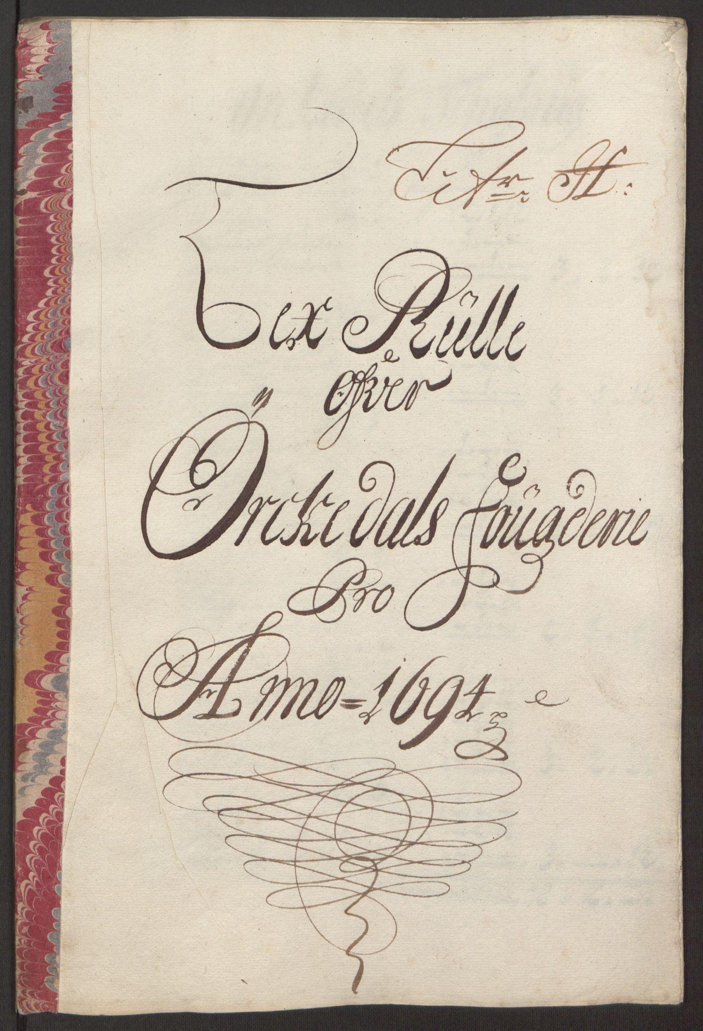 RA, Rentekammeret inntil 1814, Reviderte regnskaper, Fogderegnskap, R60/L3944: Fogderegnskap Orkdal og Gauldal, 1694, s. 105