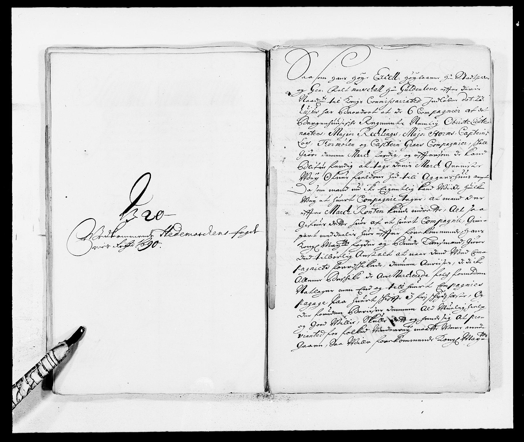 RA, Rentekammeret inntil 1814, Reviderte regnskaper, Fogderegnskap, R16/L1031: Fogderegnskap Hedmark, 1689-1692, s. 296