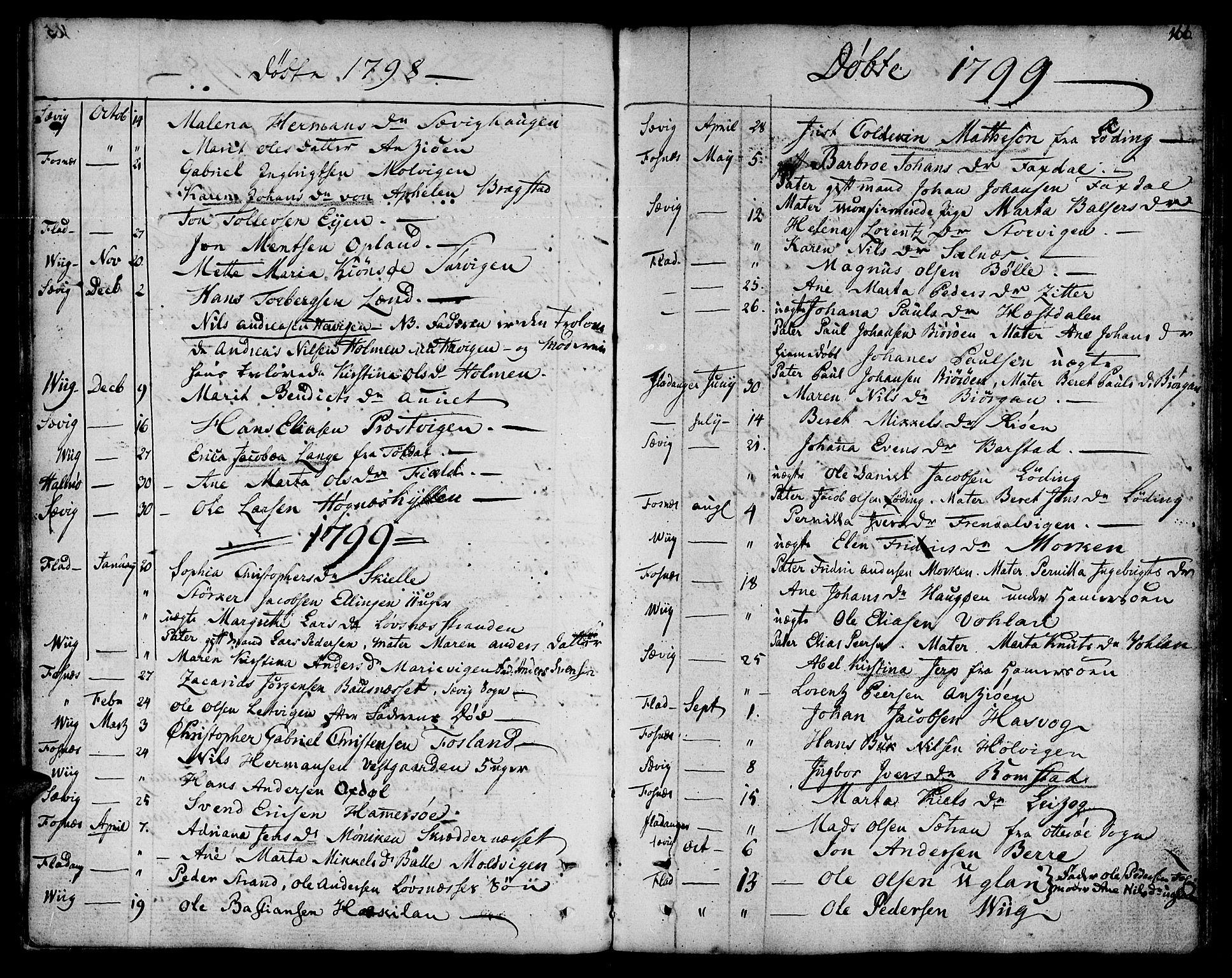 SAT, Ministerialprotokoller, klokkerbøker og fødselsregistre - Nord-Trøndelag, 773/L0608: Ministerialbok nr. 773A02, 1784-1816, s. 166