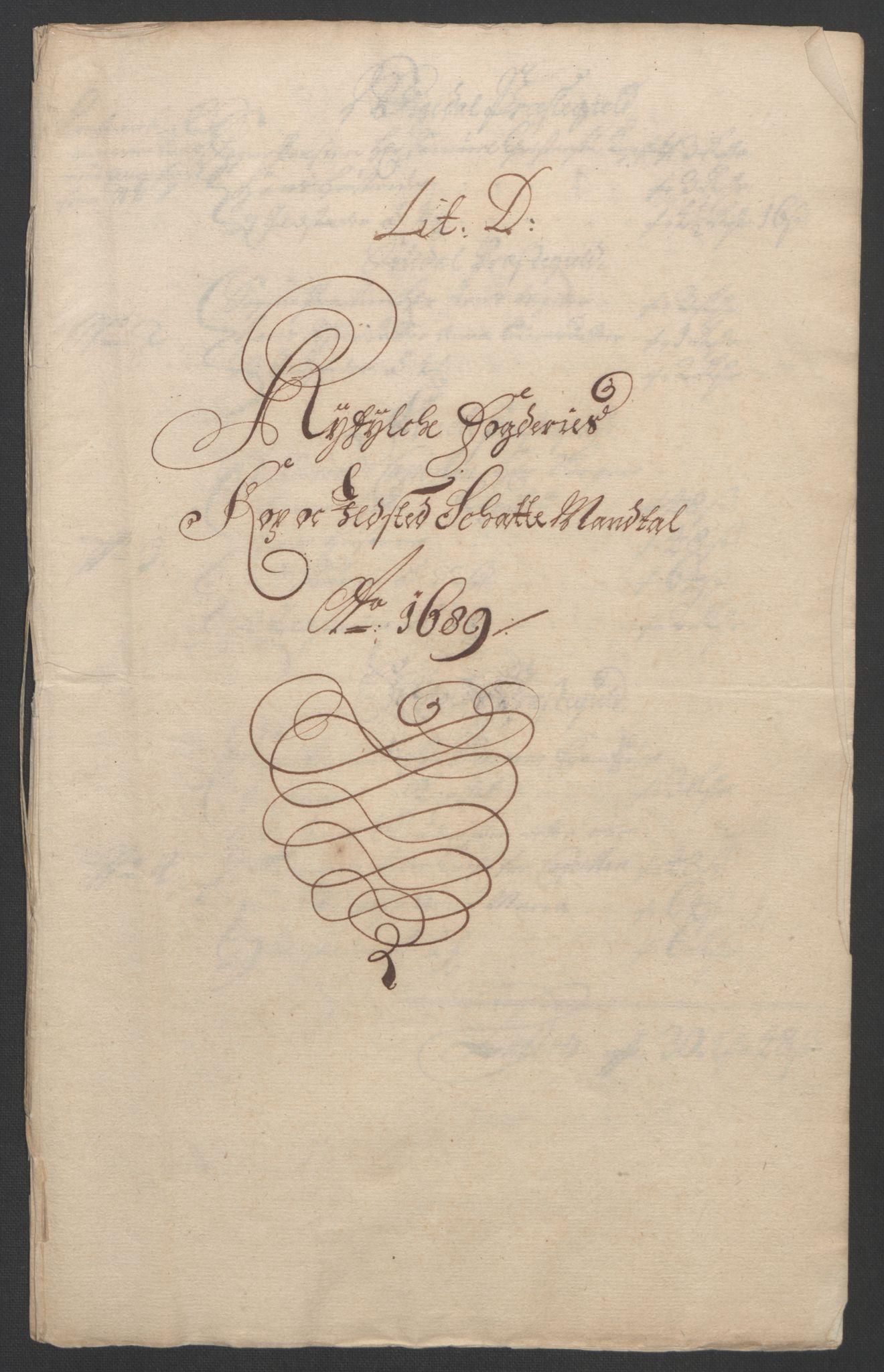 RA, Rentekammeret inntil 1814, Reviderte regnskaper, Fogderegnskap, R47/L2856: Fogderegnskap Ryfylke, 1689-1693, s. 52