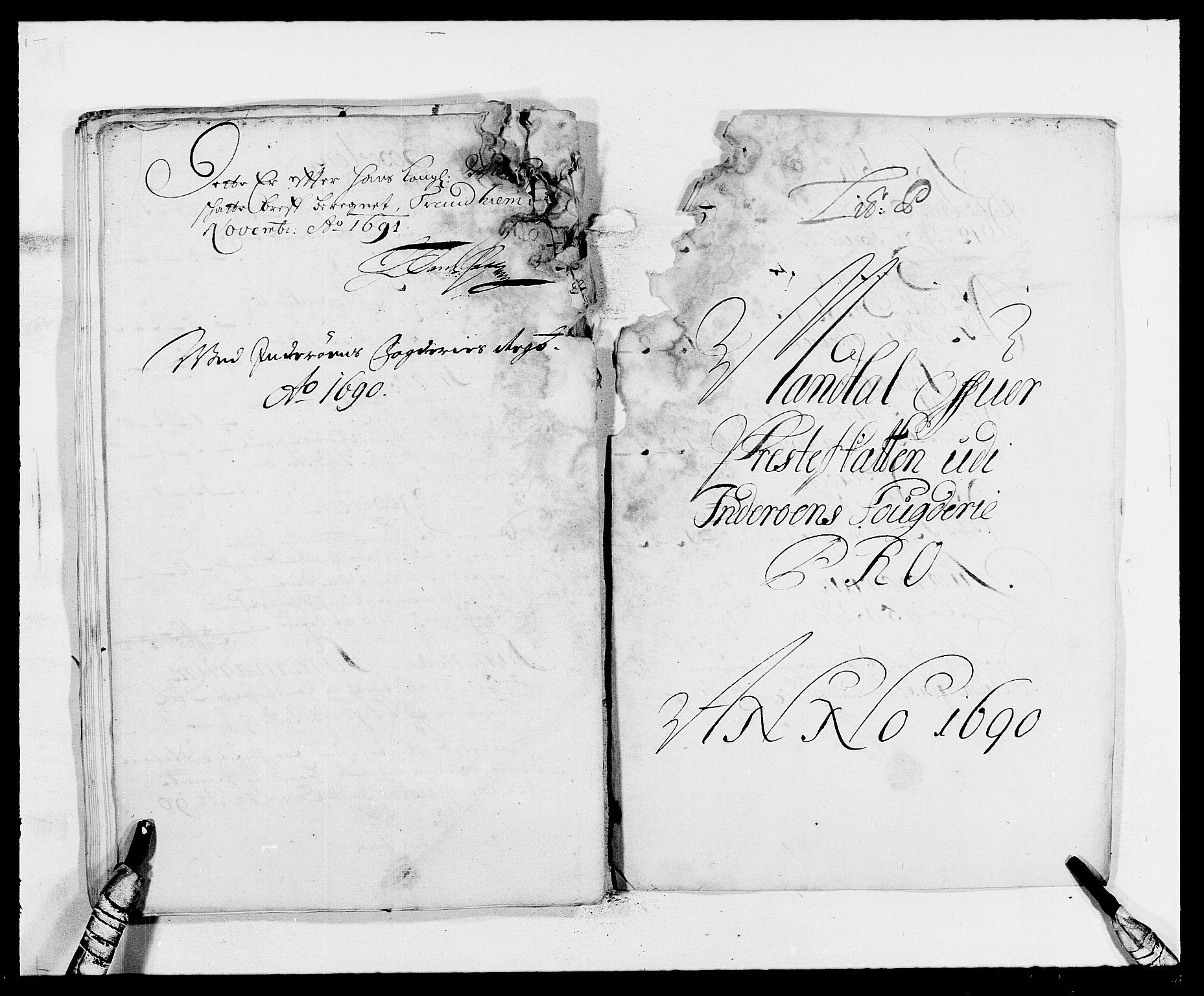 RA, Rentekammeret inntil 1814, Reviderte regnskaper, Fogderegnskap, R63/L4307: Fogderegnskap Inderøy, 1690-1691, s. 179