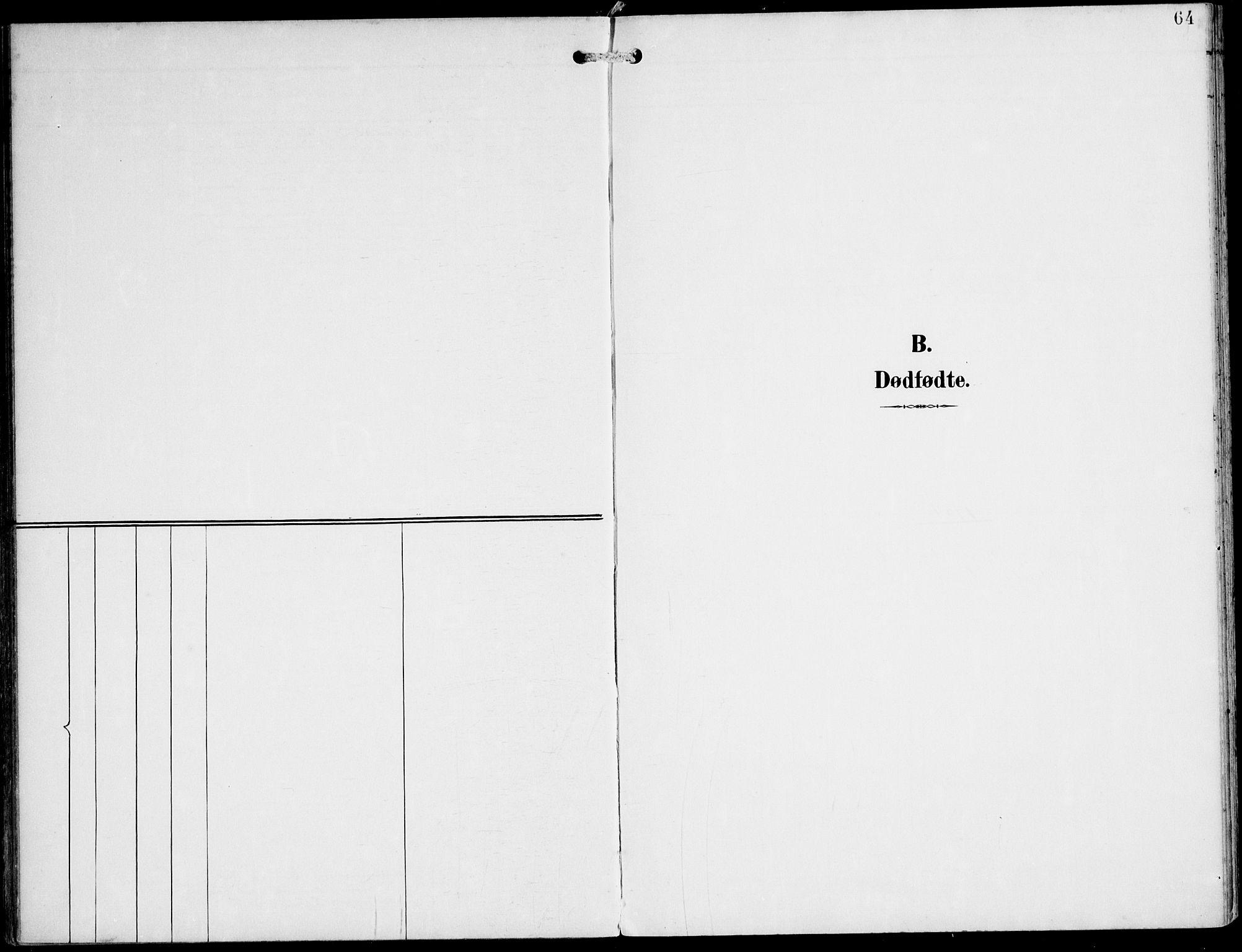 SAT, Ministerialprotokoller, klokkerbøker og fødselsregistre - Nord-Trøndelag, 745/L0430: Ministerialbok nr. 745A02, 1895-1913, s. 64
