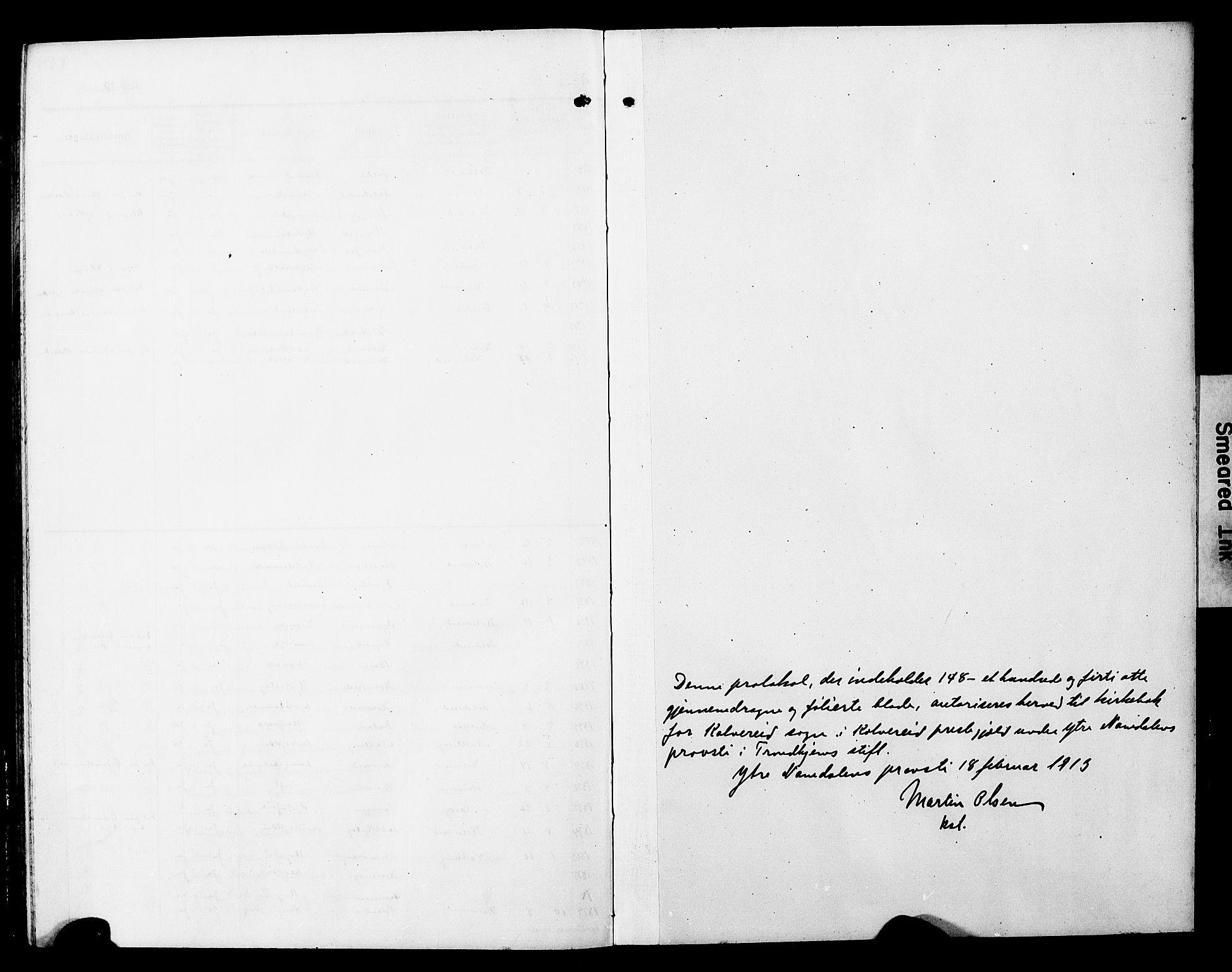 SAT, Ministerialprotokoller, klokkerbøker og fødselsregistre - Nord-Trøndelag, 780/L0653: Klokkerbok nr. 780C05, 1911-1927