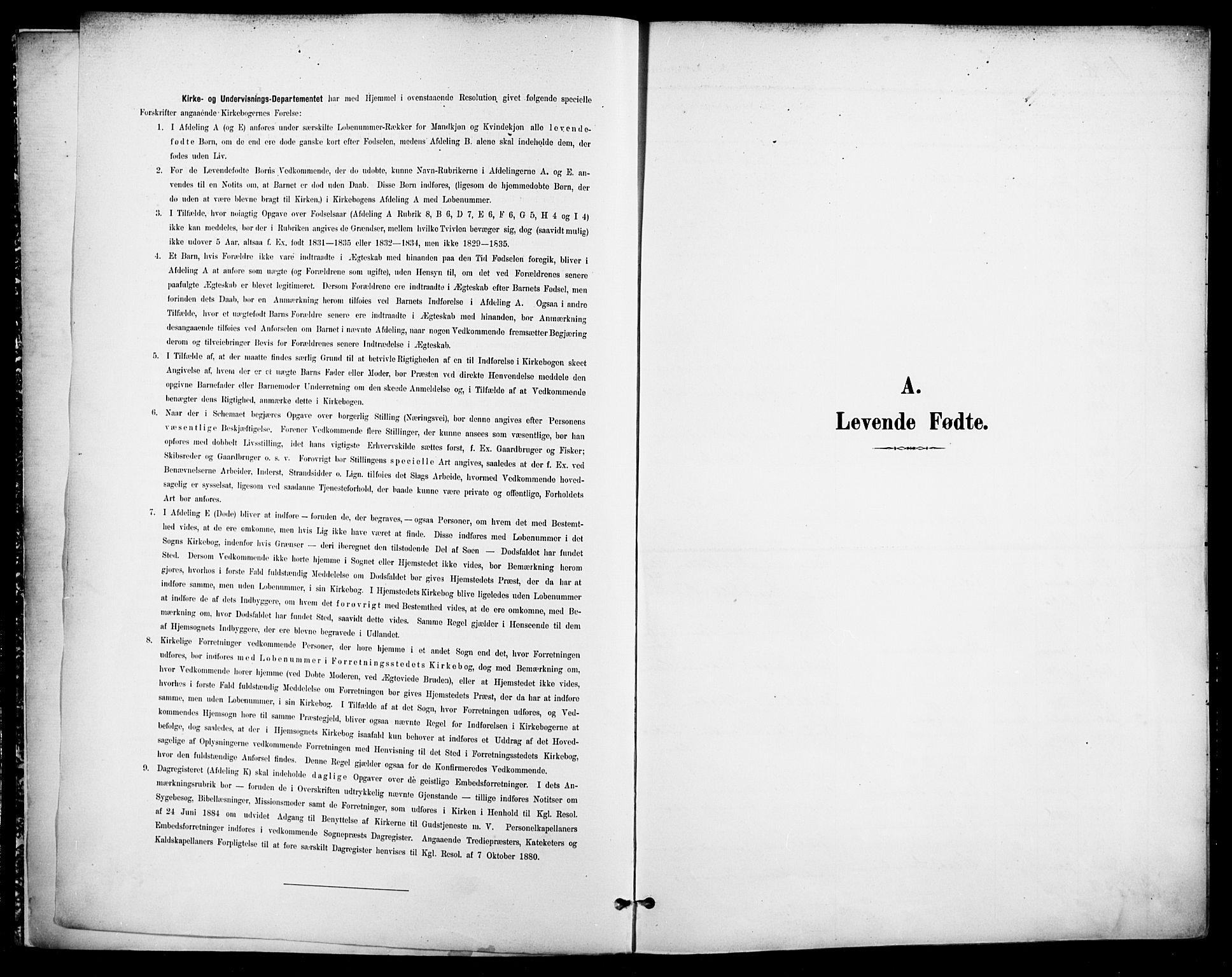 SAO, Jakob prestekontor Kirkebøker, F/Fa/L0005: Ministerialbok nr. 5, 1896-1903