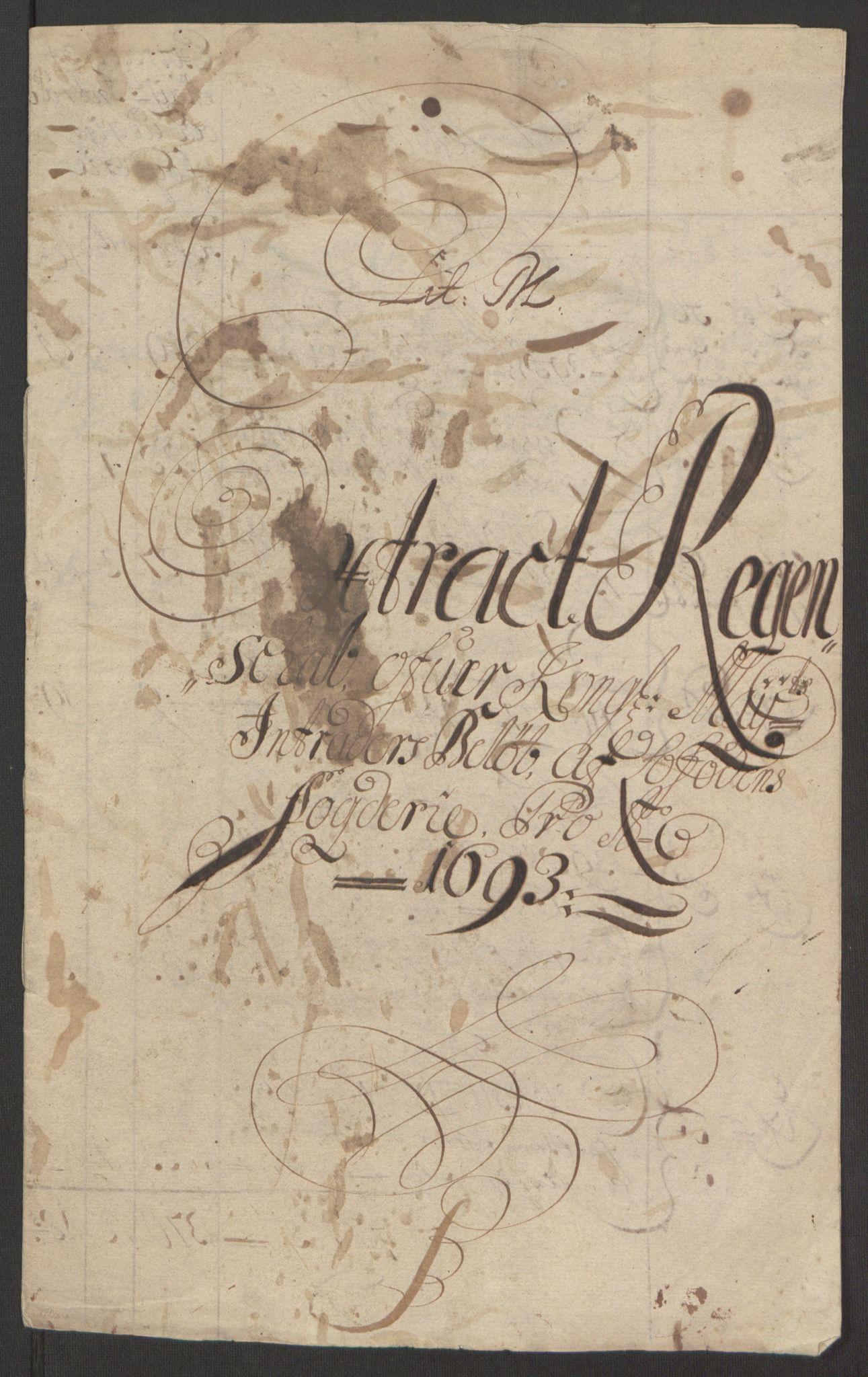 RA, Rentekammeret inntil 1814, Reviderte regnskaper, Fogderegnskap, R67/L4675: Fogderegnskap Vesterålen, Andenes og Lofoten, 1691-1693, s. 223